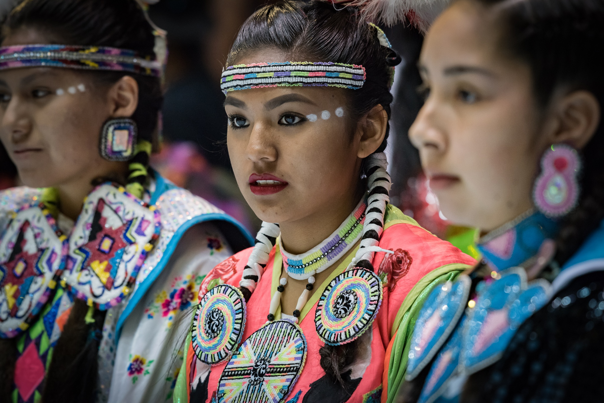 Photo in People #gathering of nation #pow wow #woman #traditional attire #albuquerque #new mexico