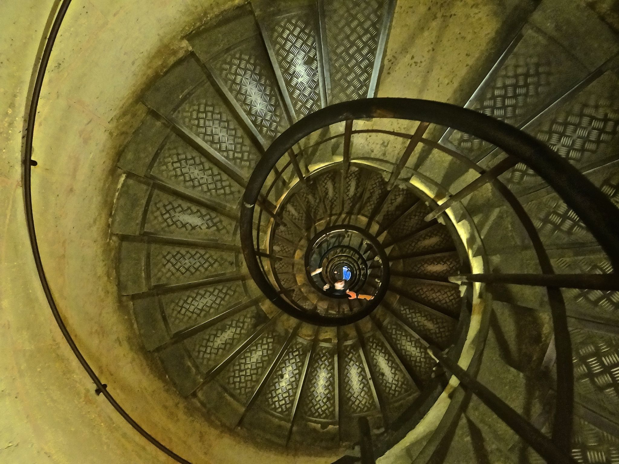 Spiraql Staircase - Arch De Triumph by Steve Aicinena