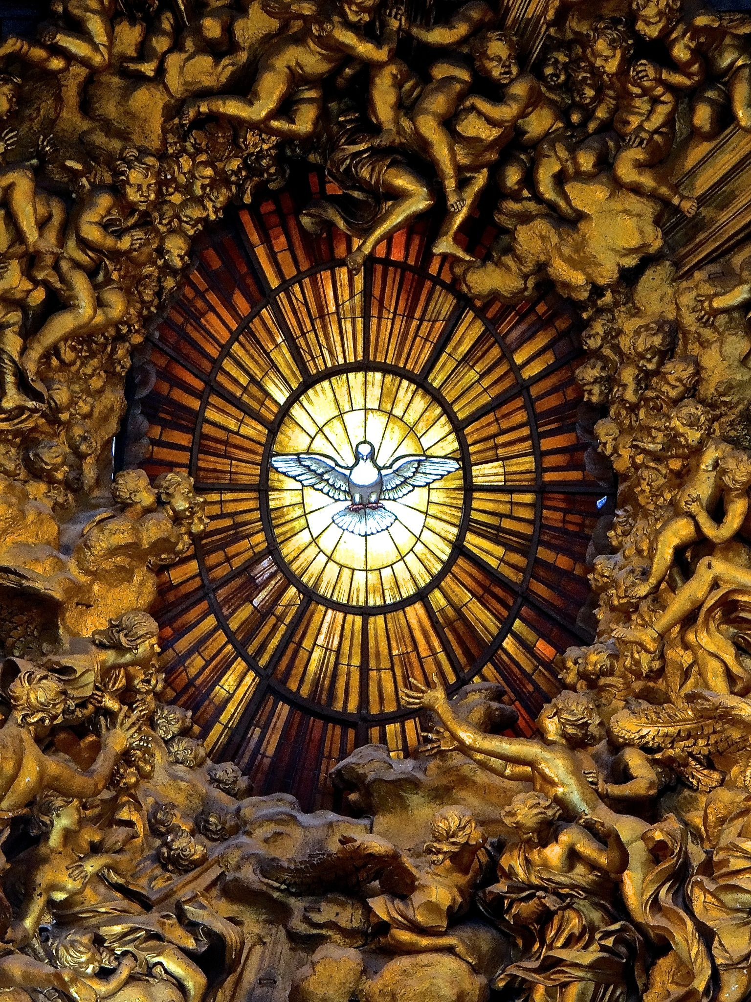 Spirit Calls - St. Peter's - Vatican by Steve Aicinena