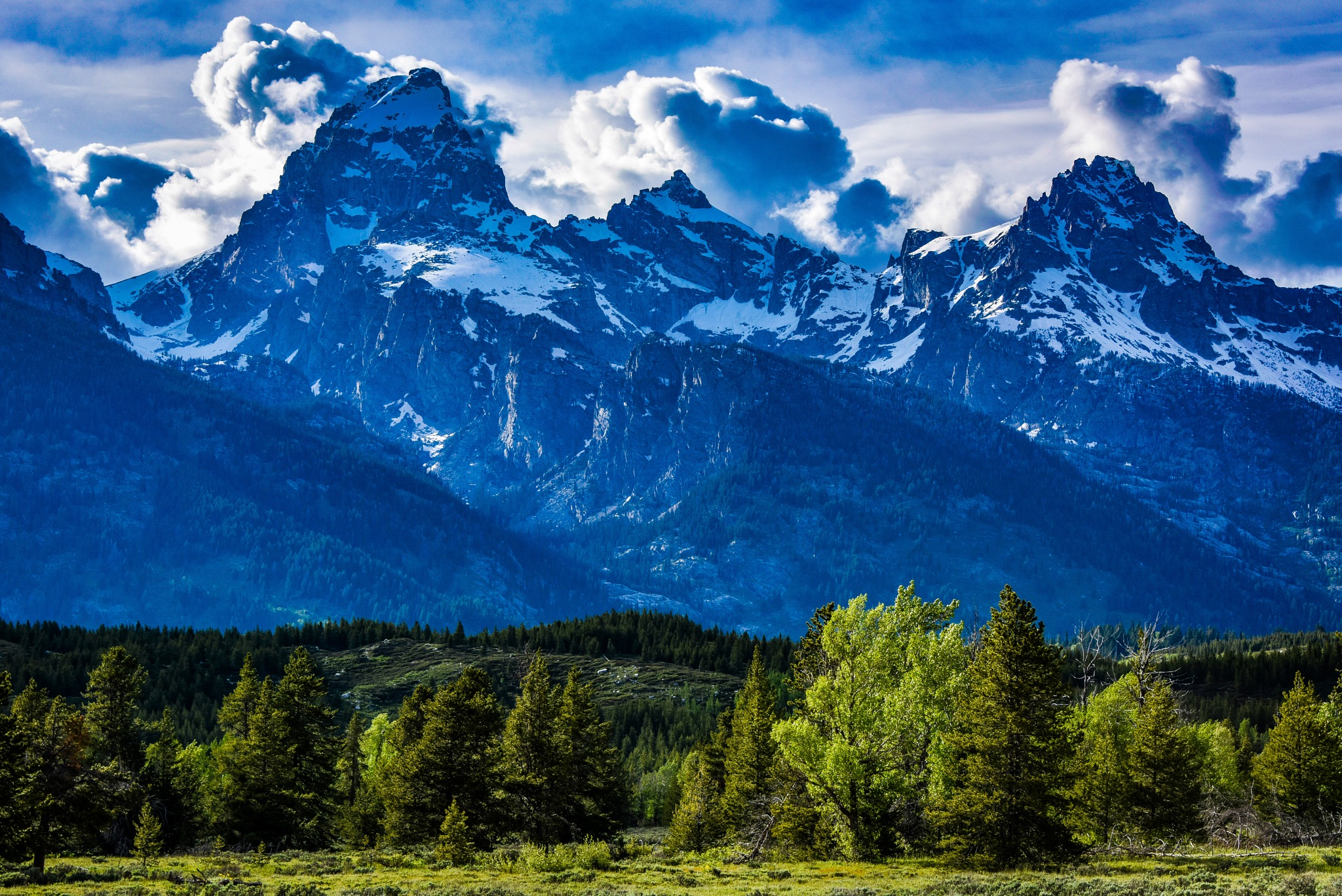 Grand Teton Late Afternoon by Steve Aicinena