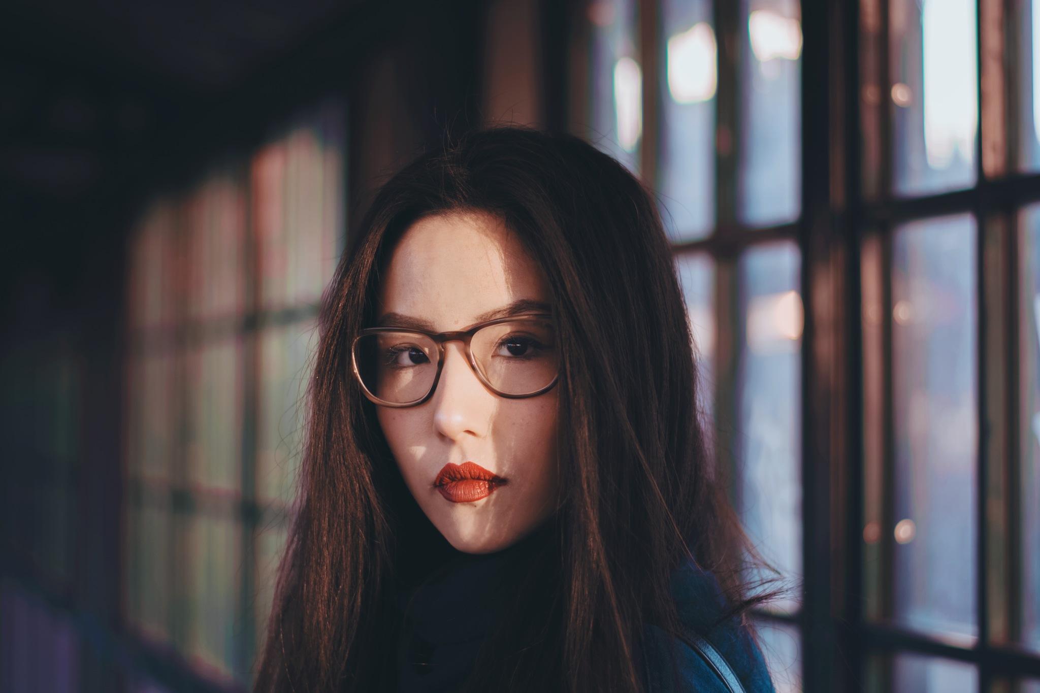 Ah..girl in the winter sunlight by Yoko D