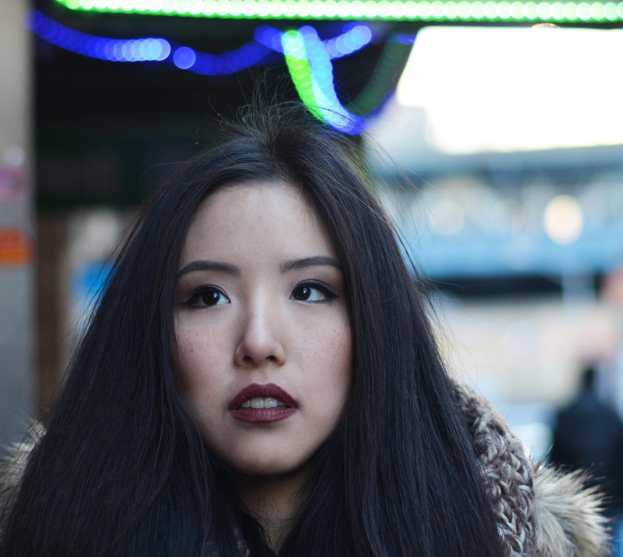 Ah..walking through the chinatown by Yoko D