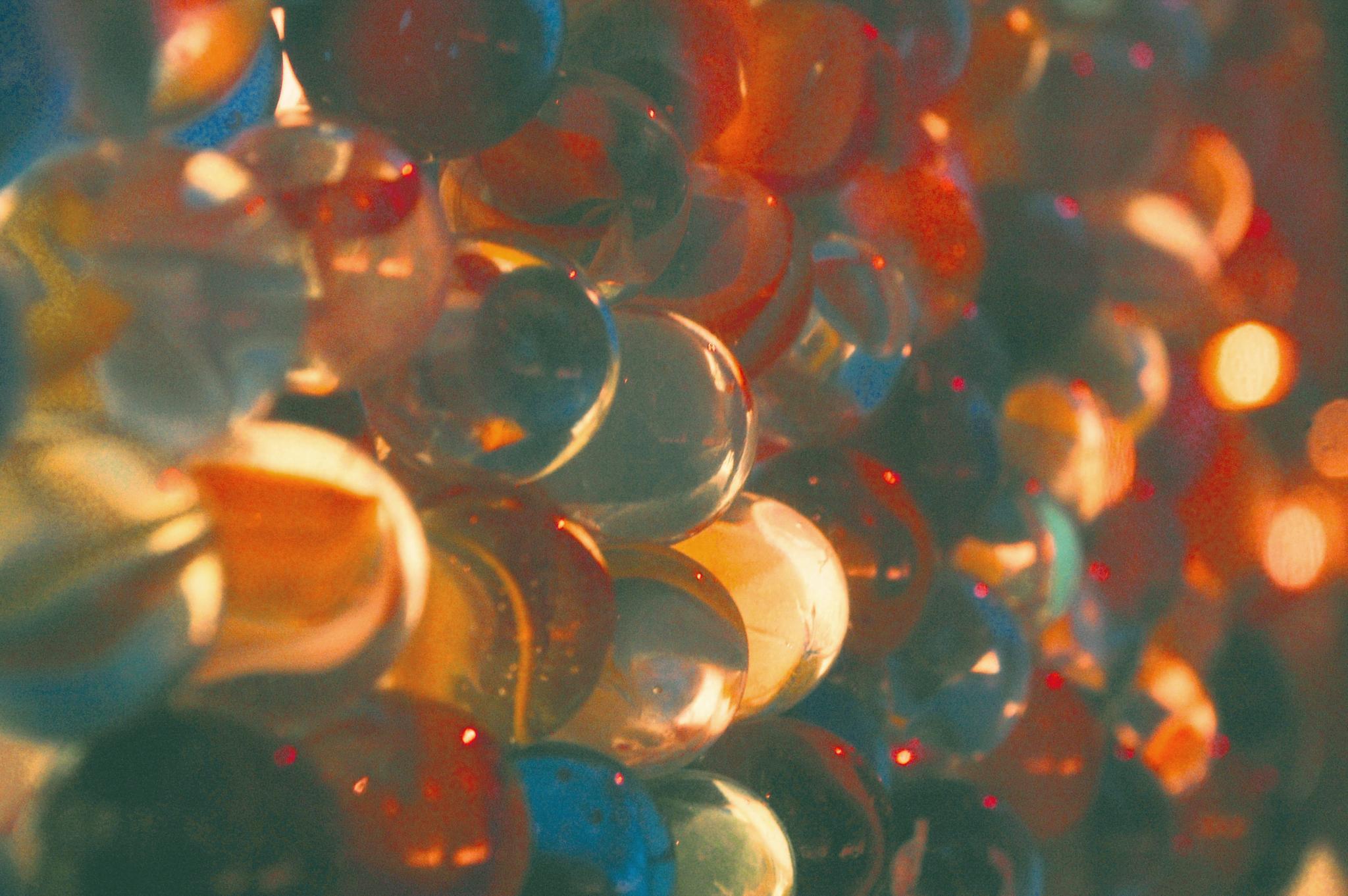 Ah...marbles by Yoko D
