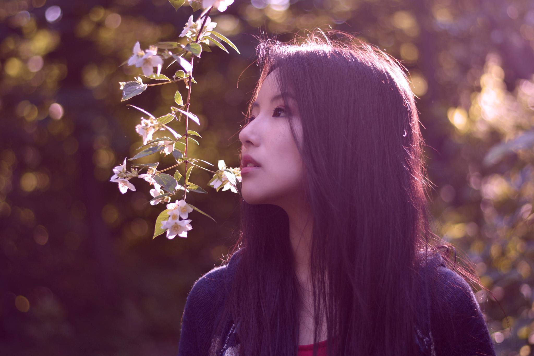 Ah..spring  by Yoko D