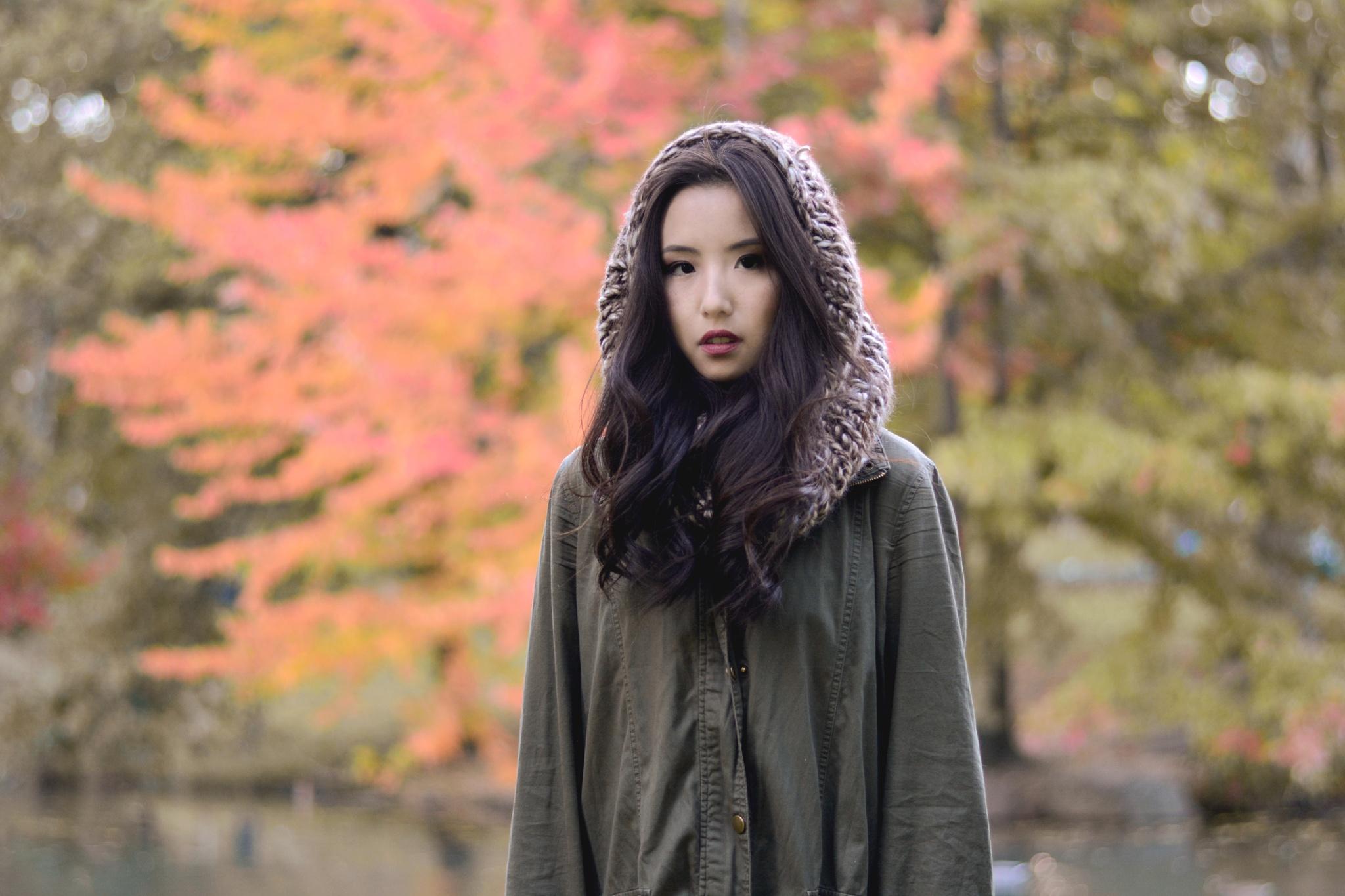 Ah..big autumn tree by Yoko D