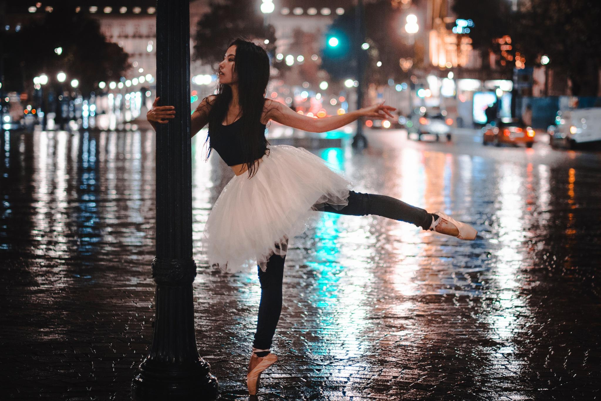 Ah...dancing in the rain by Yoko D