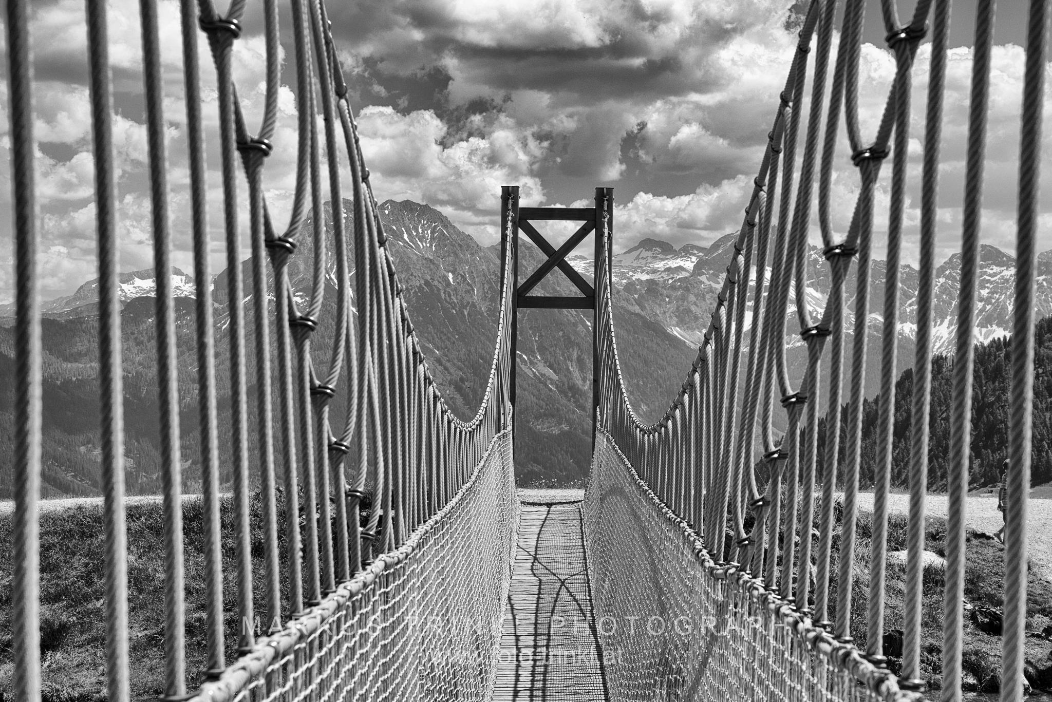 hanging bridge by MT Photography