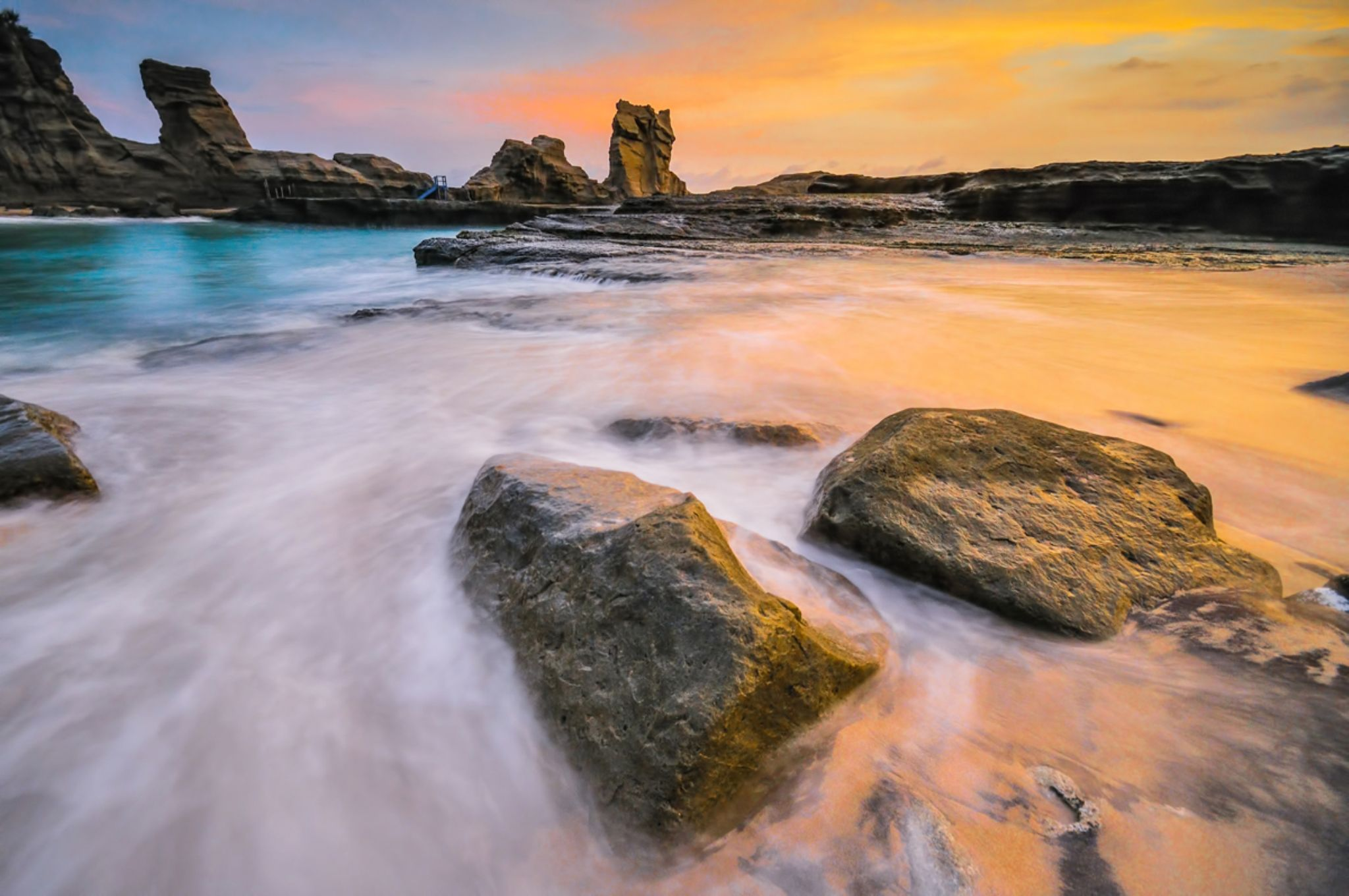 Between Water and Fire by Petrus Arif
