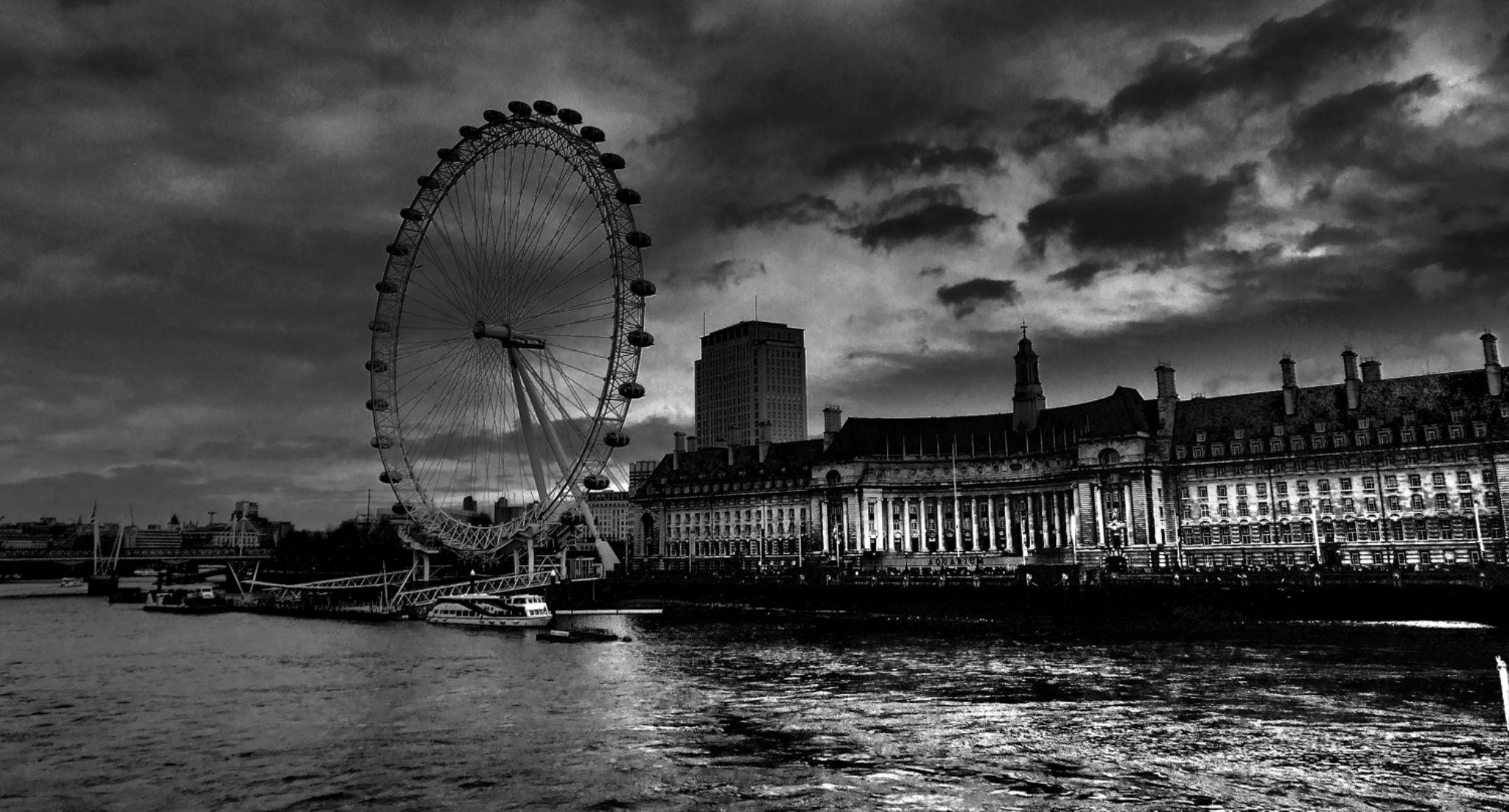 London eye by wikizameryki