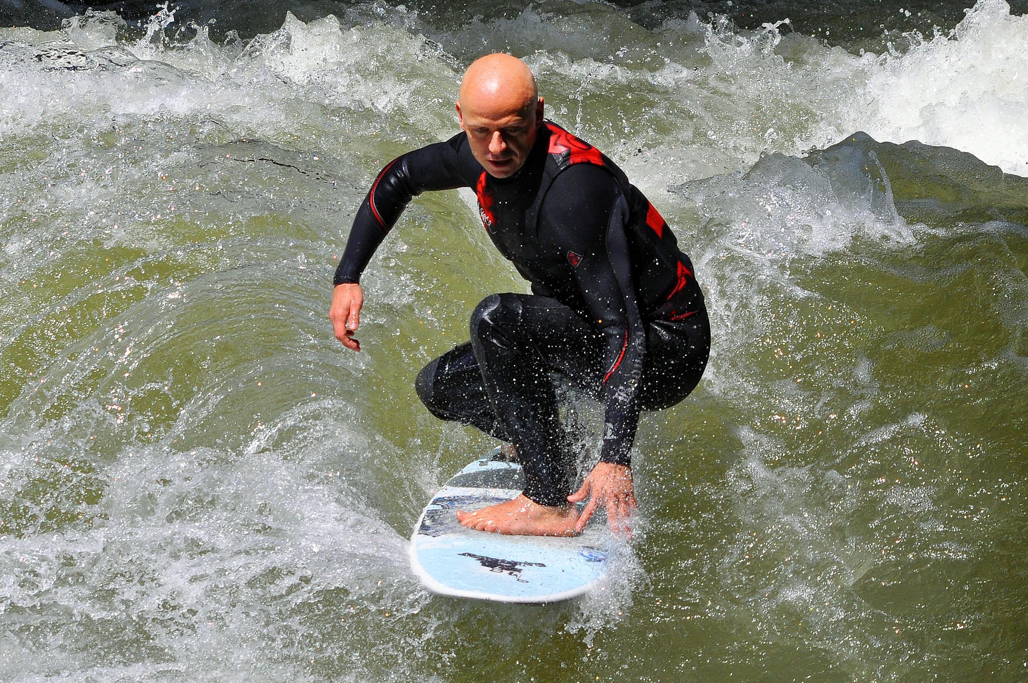 Ride Trhrough Wild Water by Marco Bertamé