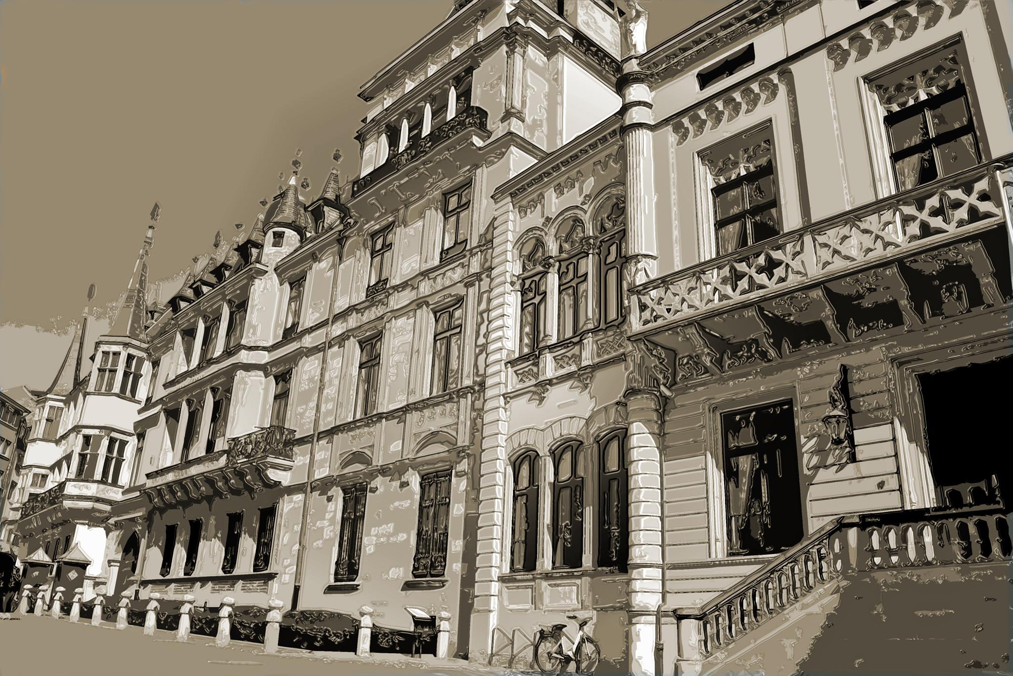 Royal Palace by Marco Bertamé