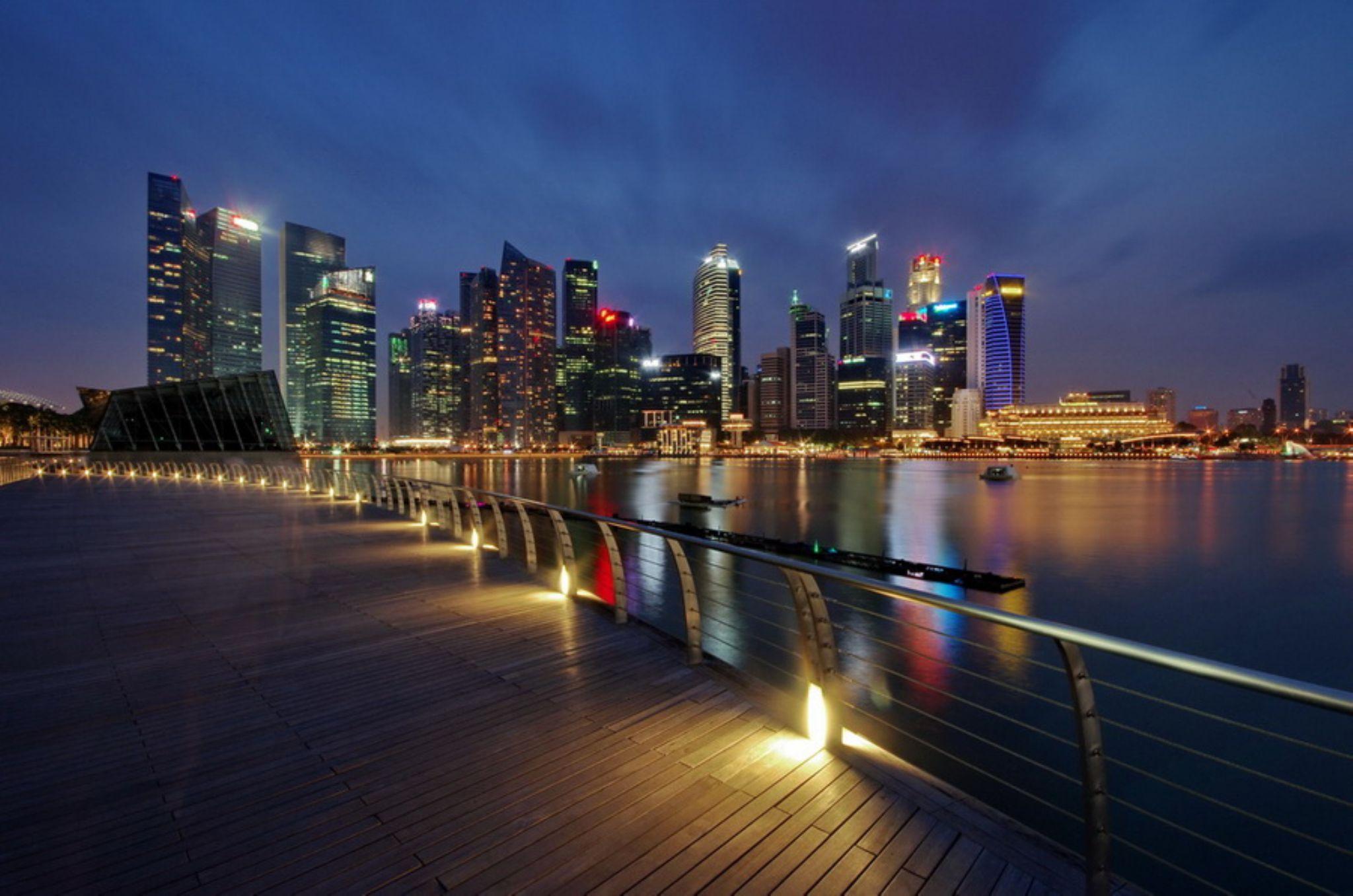 Singapore Central Business District  by Ken Goh