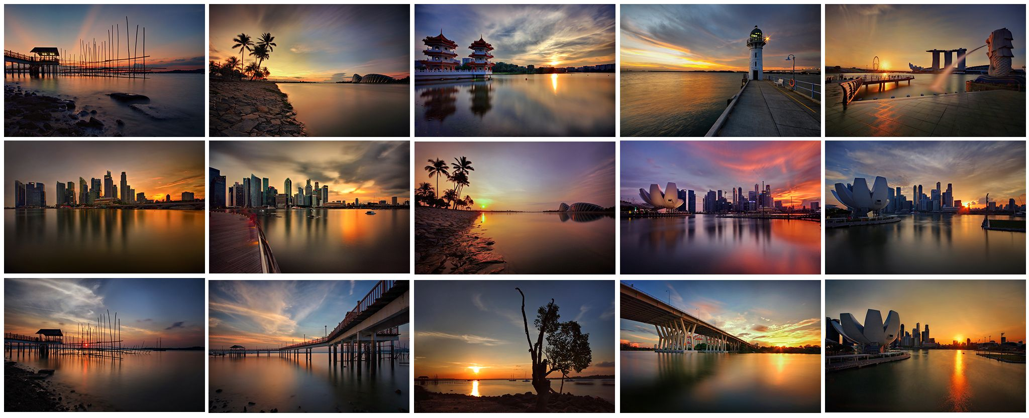 My Sunrise/Sunset Collection for the Year of 2013 by Ken Goh