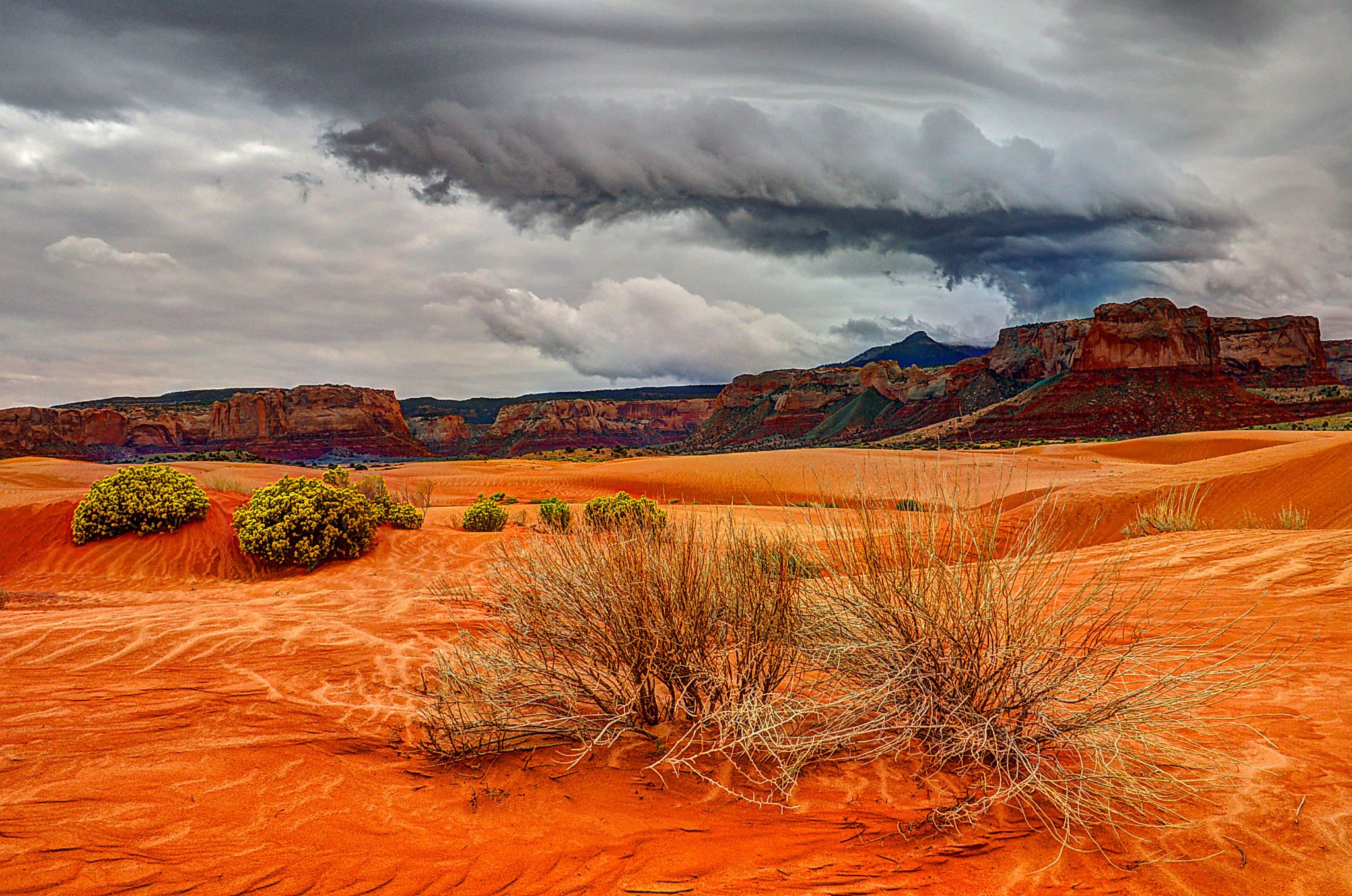 Storm over the Dunes by J. Philip Larson Photography