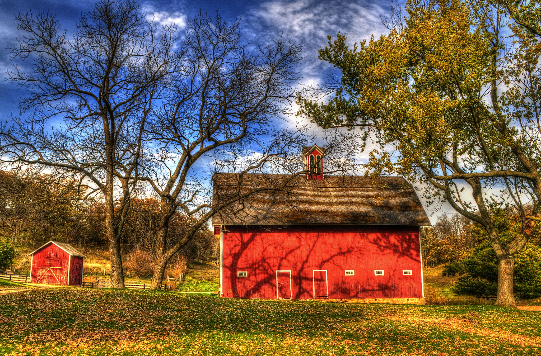 Red Barn by J. Philip Larson Photography