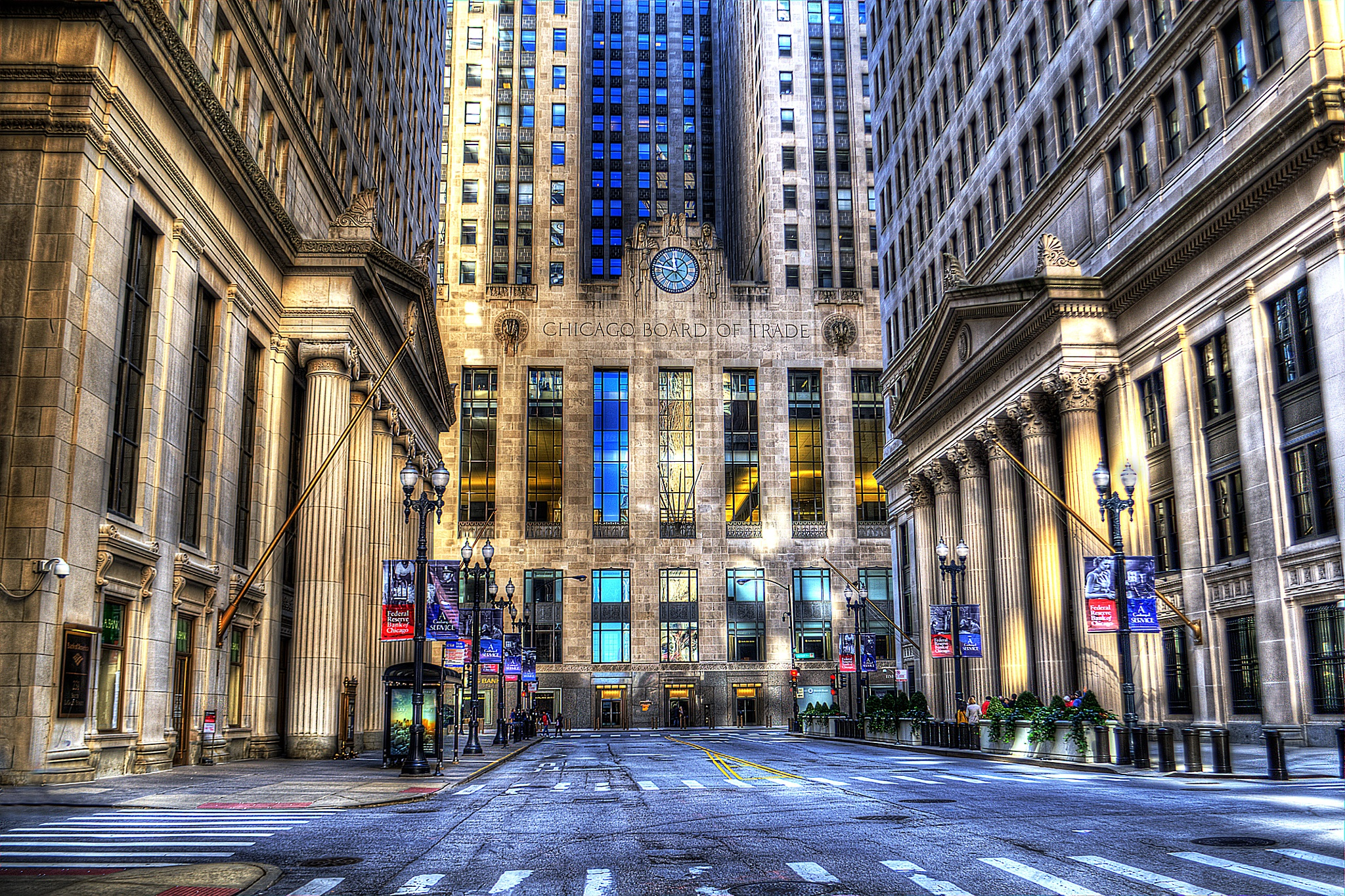 Chicago Board of Trade by J. Philip Larson Photography