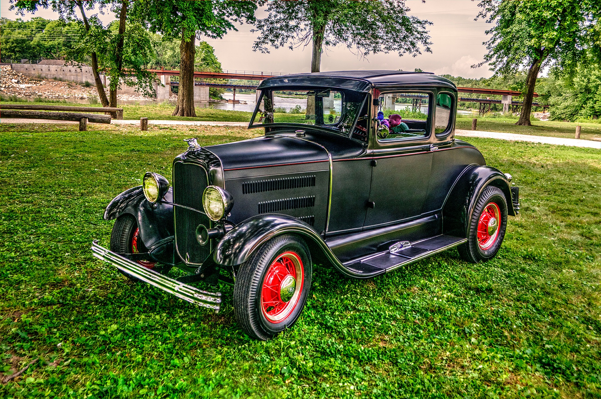 1930 Model A Ford by J. Philip Larson Photography