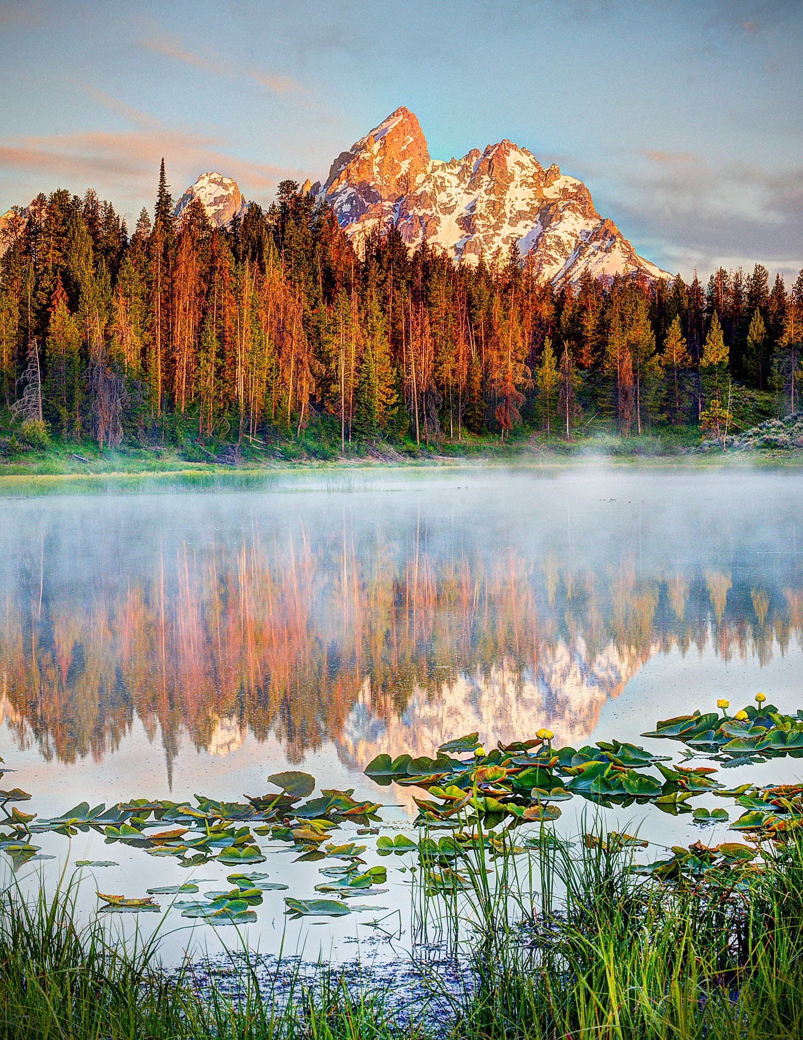 Mountain Morning Reflection by J. Philip Larson Photography