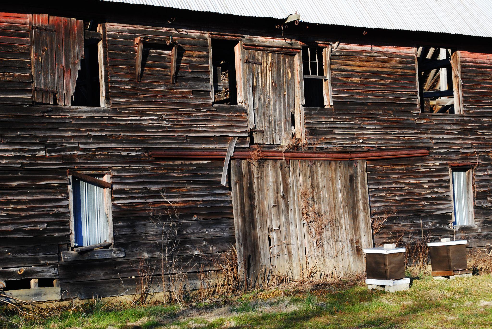 Old barn house by Desiree N