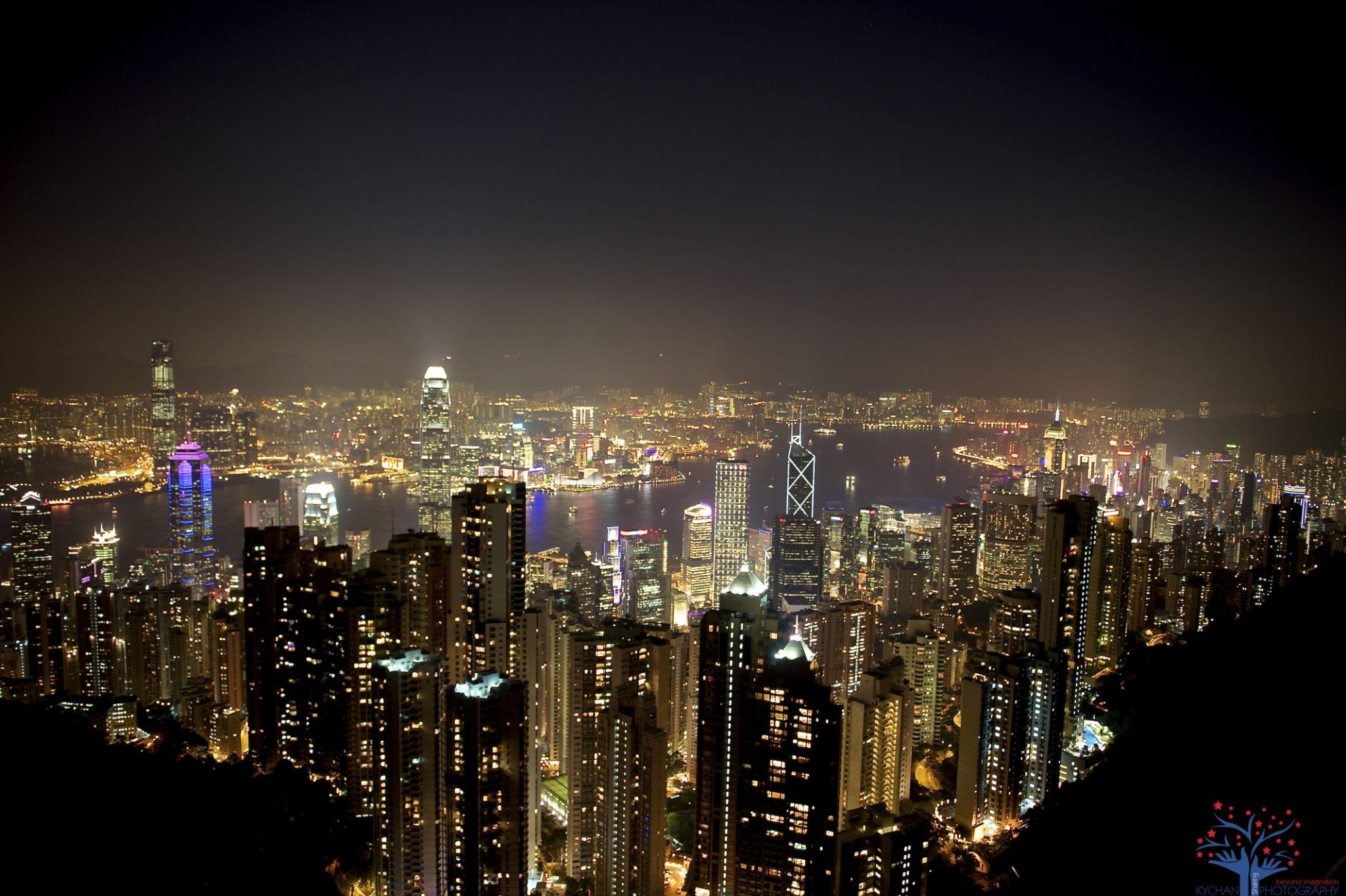 Hong Kong - The Peak view by Brandon Chan
