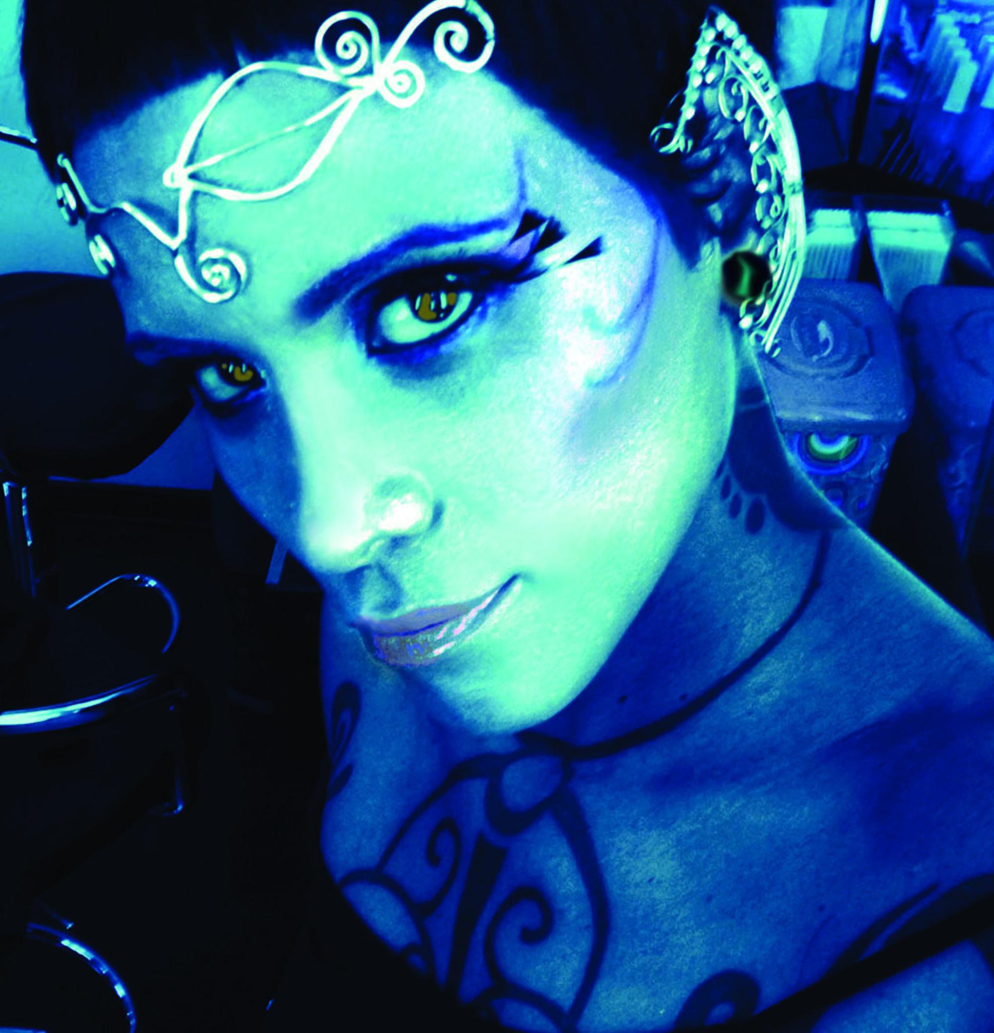 """""""Avatar Look""""  (Fantasy Makeup) by antonina.favazza"""