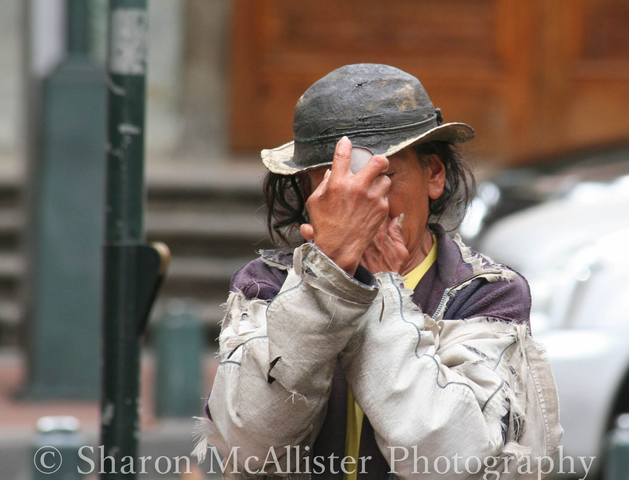 Homeless in ecuador by Sharon McAllister
