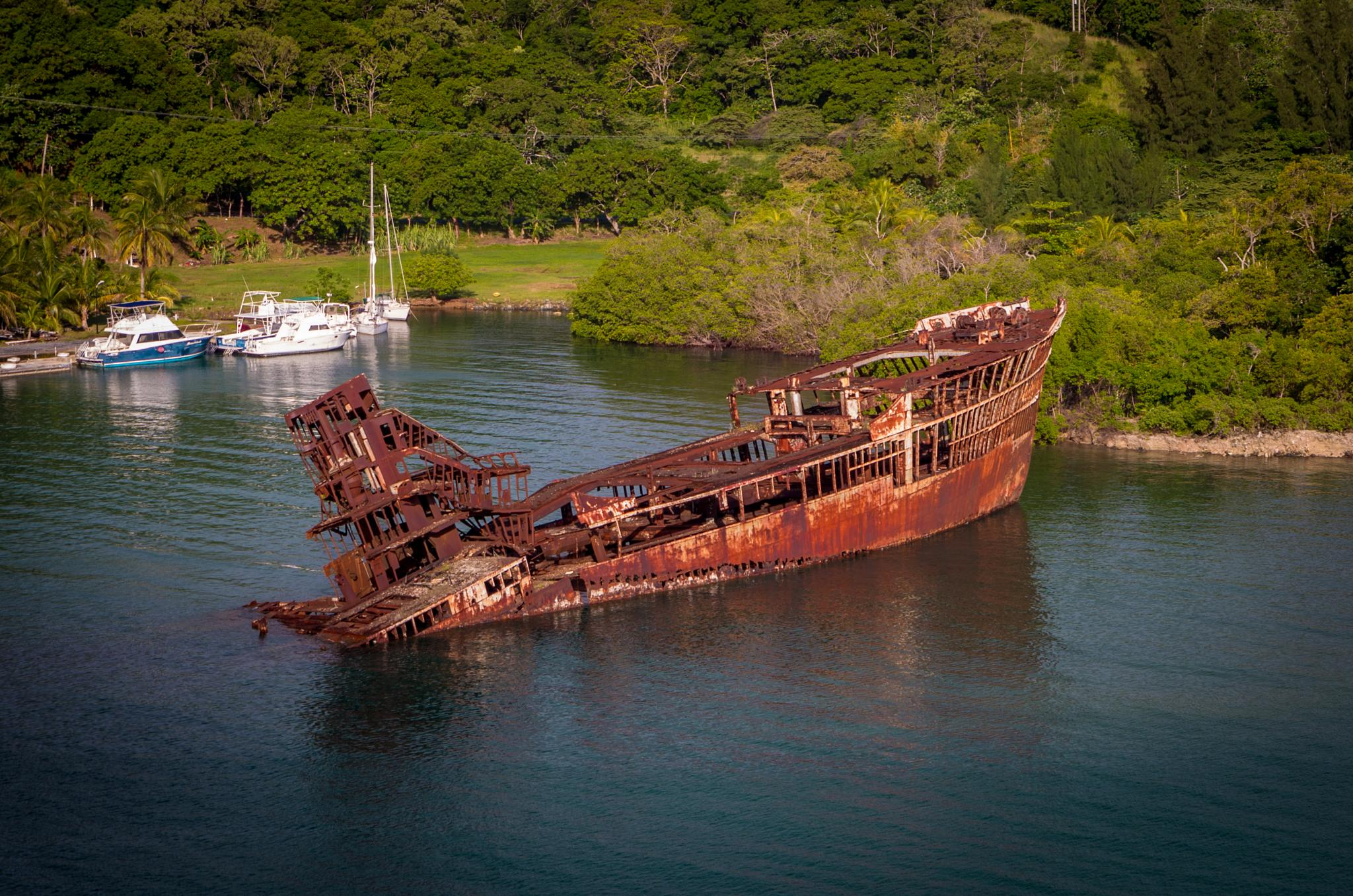 Rusted Boat by Victor Martin