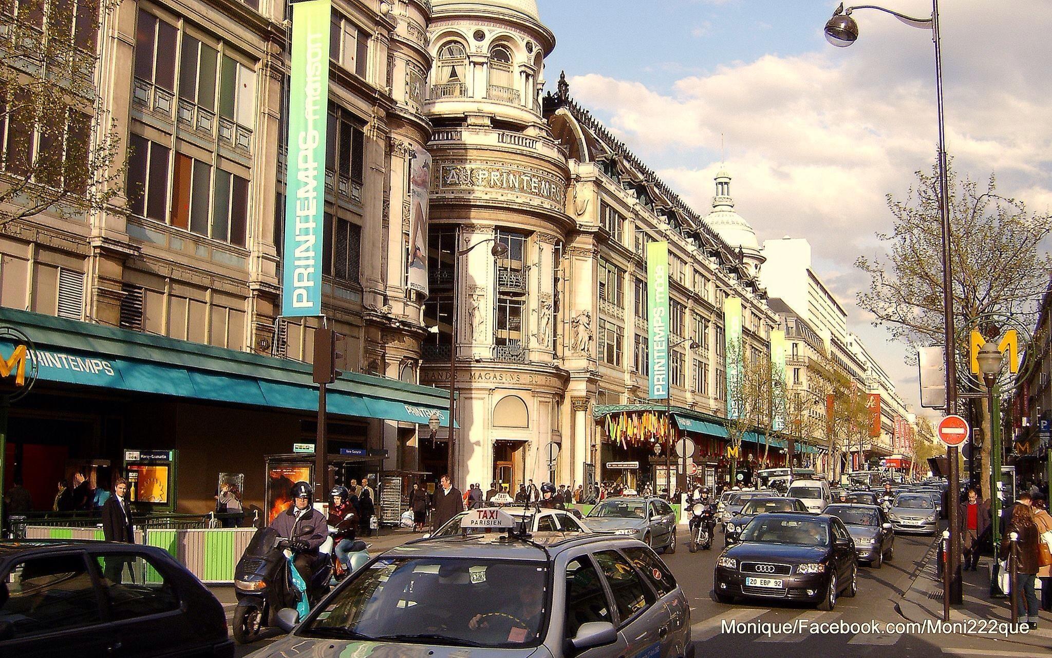 Printemps Department Store in Paris by monique222