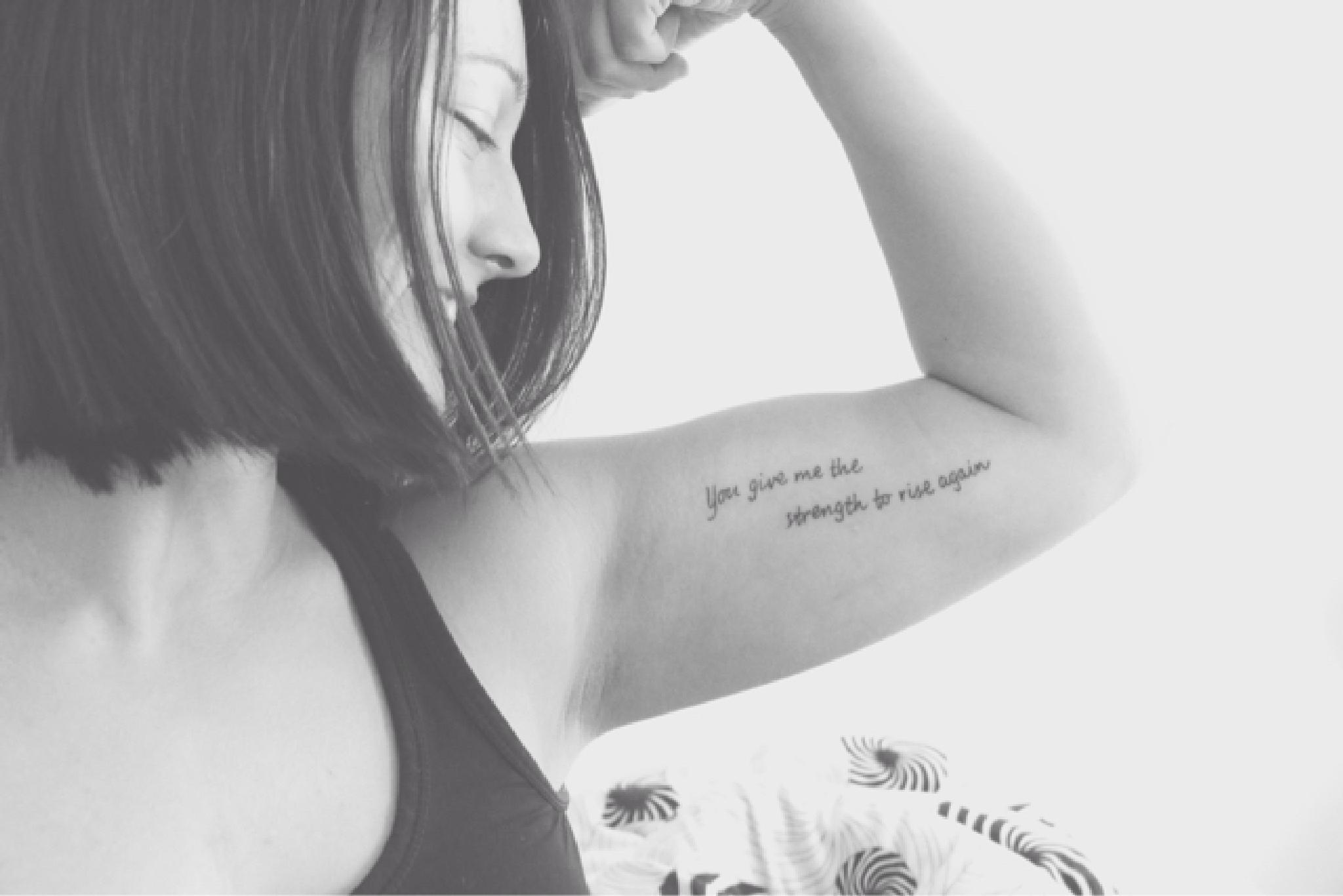 my tattoo by LineNielsen