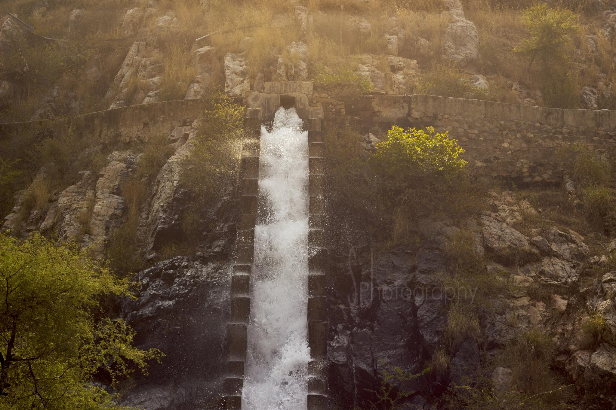 Wicked Waterfall by SoliJani