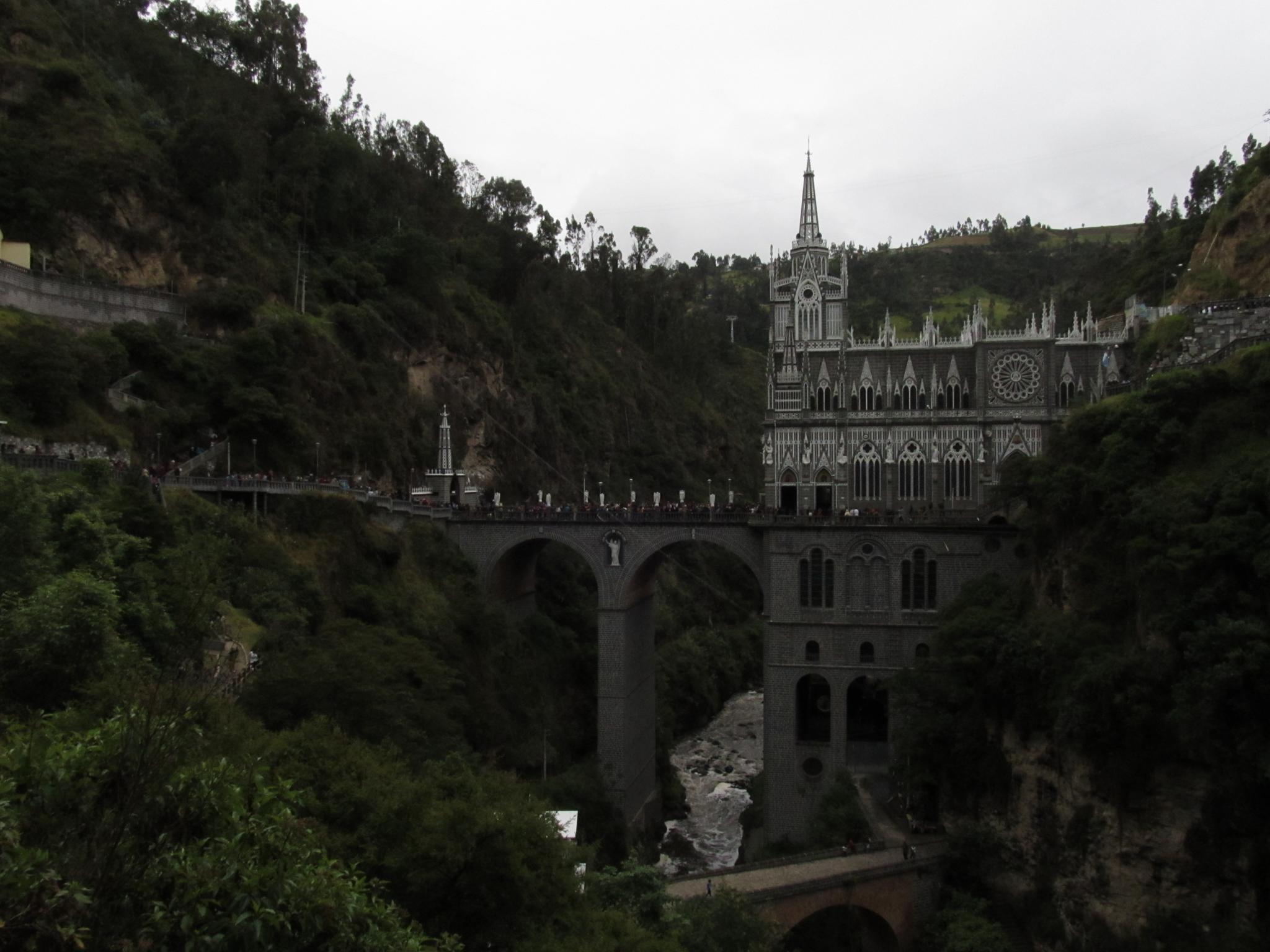 santuario de las lajas by NELSONVALENCIAO