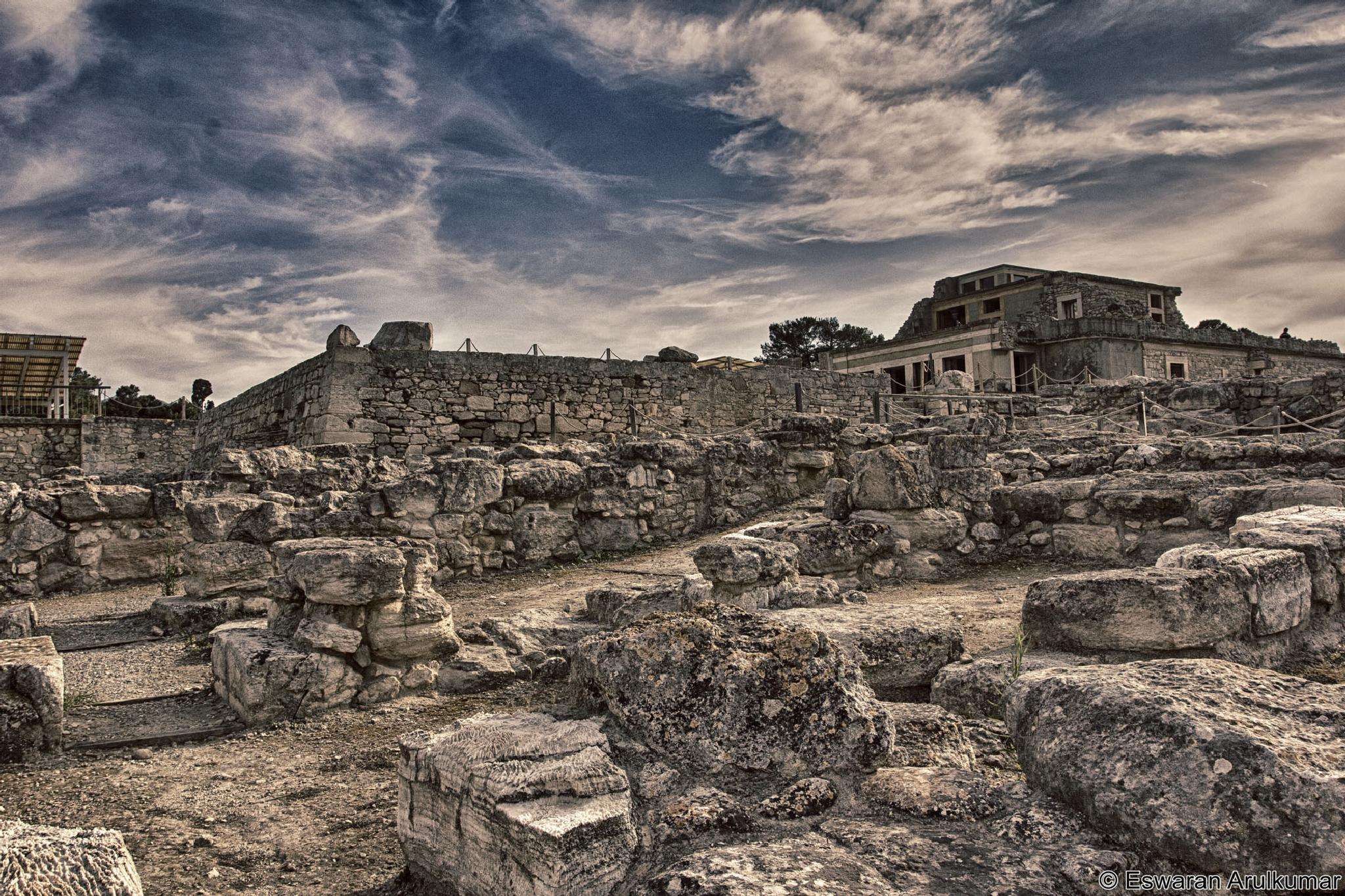 Ancient city of Crete, Knossos  by Eswaran Arulkumar