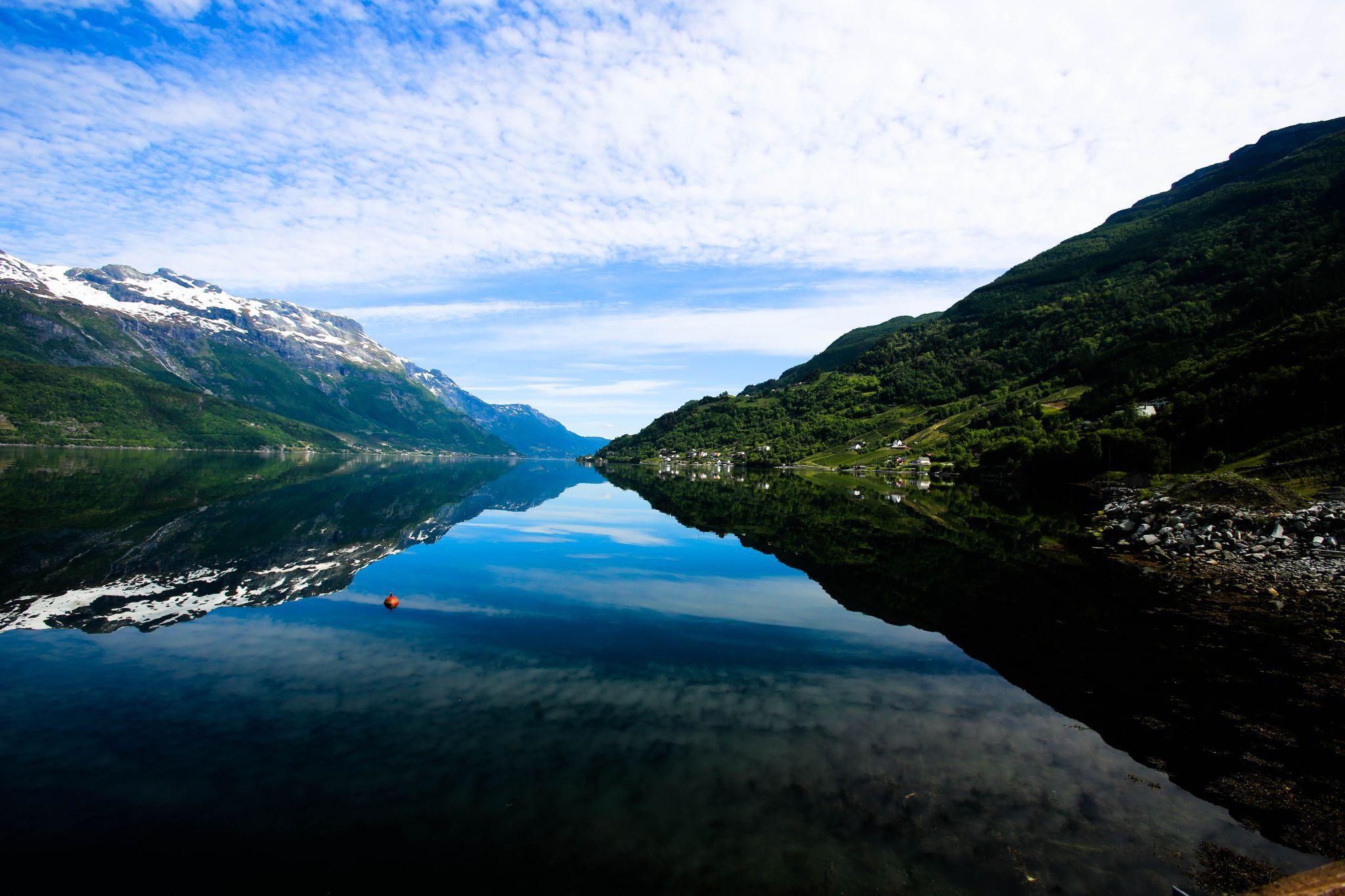 Mo i Rana, Troms Norway. by Huwngvb