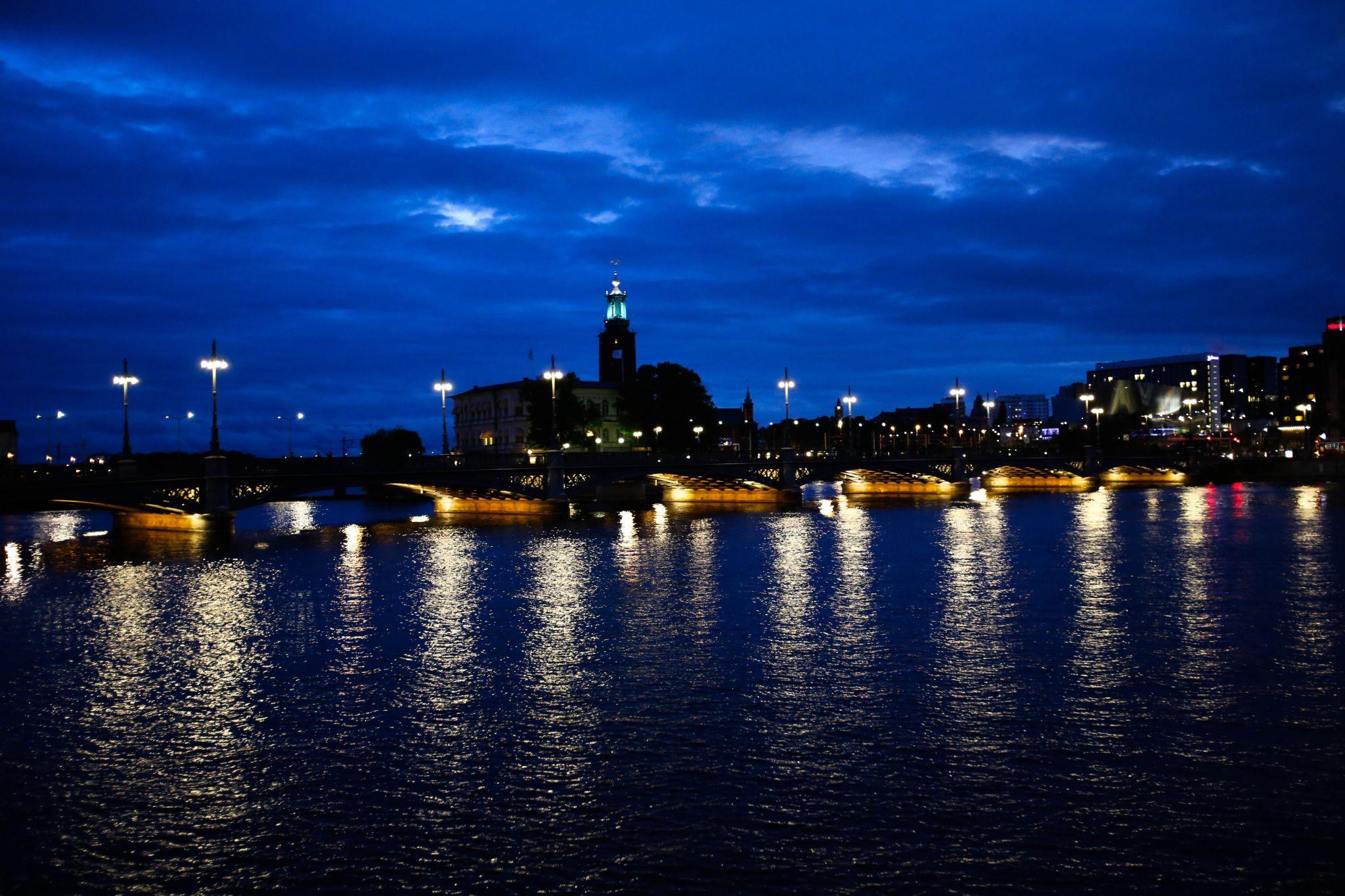 Stockholm by night. by Huwngvb