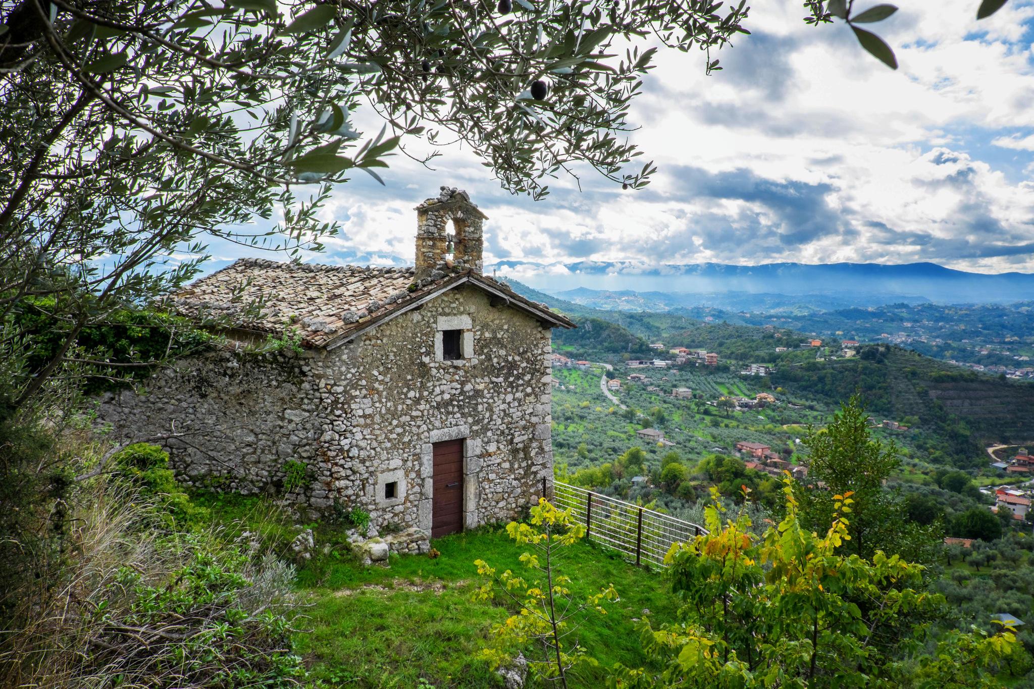 Photo in Architecture #church #san valentino #italy #landscape #veroli