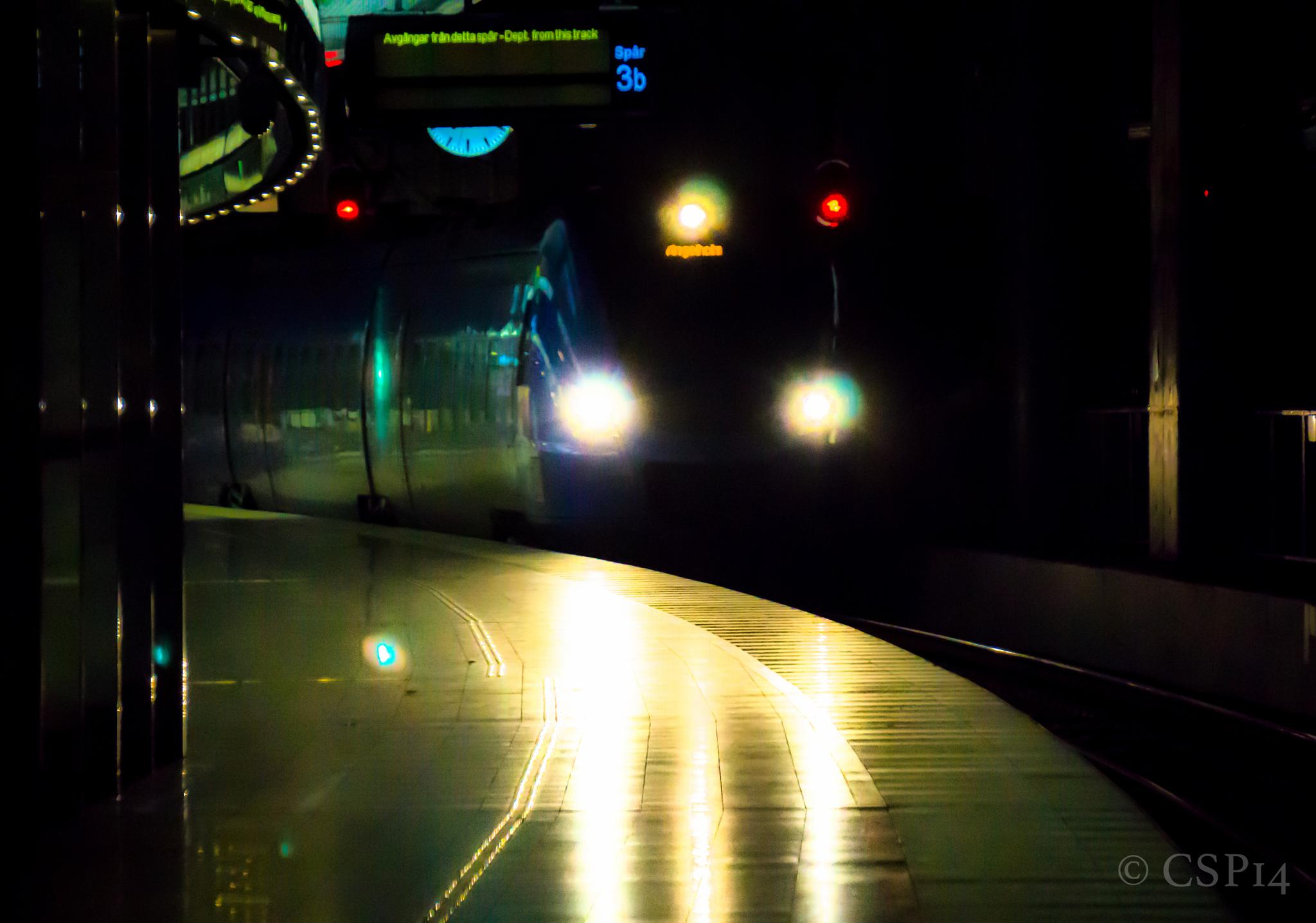 Train coming! by QuestForLight&LAS