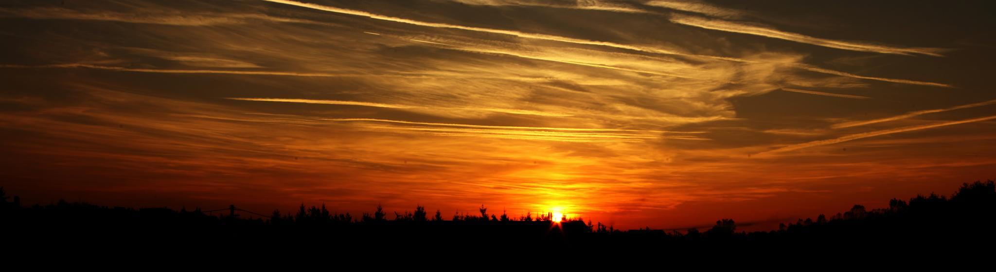 sunset - Balassagyarmat, Hungary by Sevoir