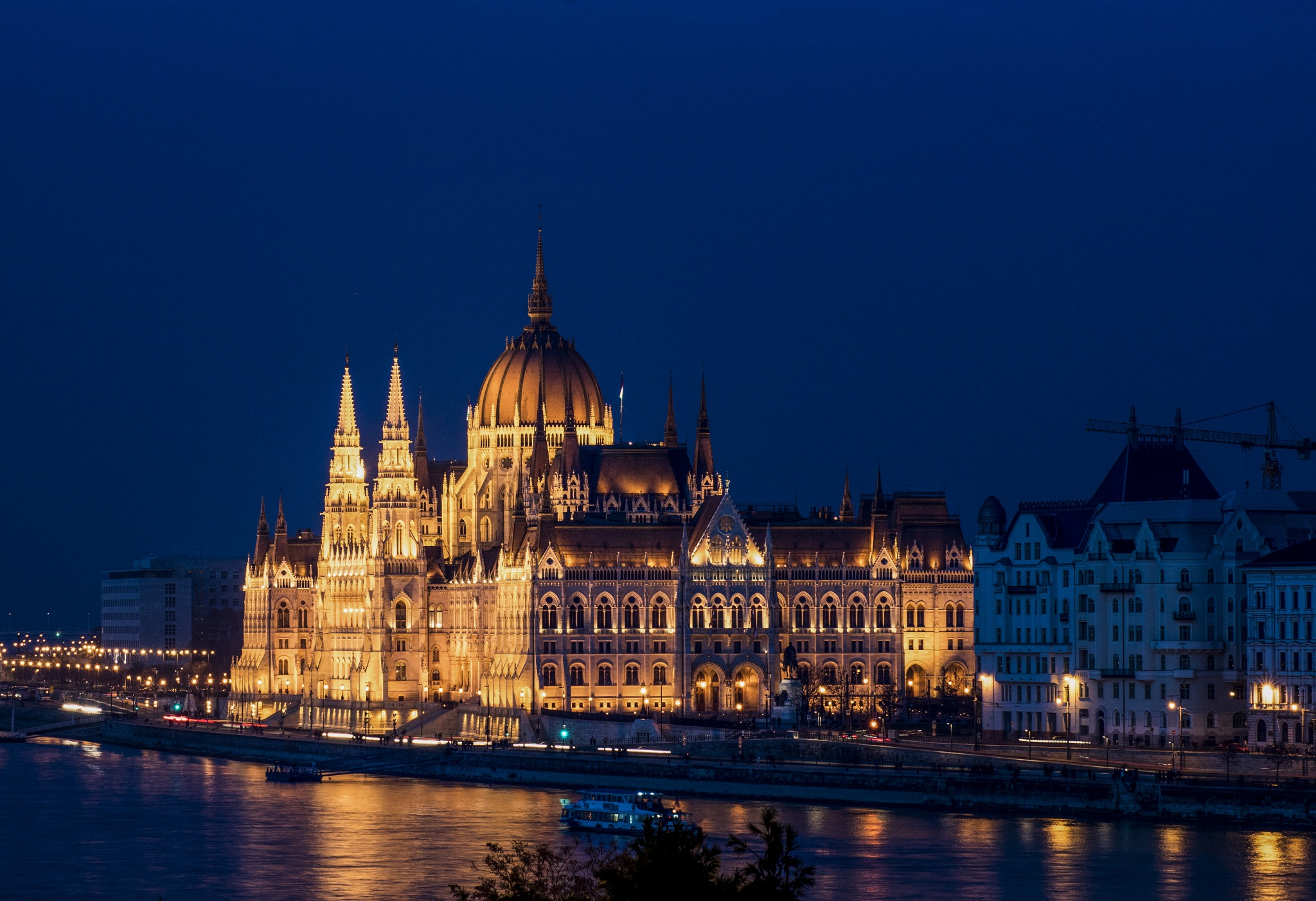 Hungarian Parliament @bluehour by Sevoir