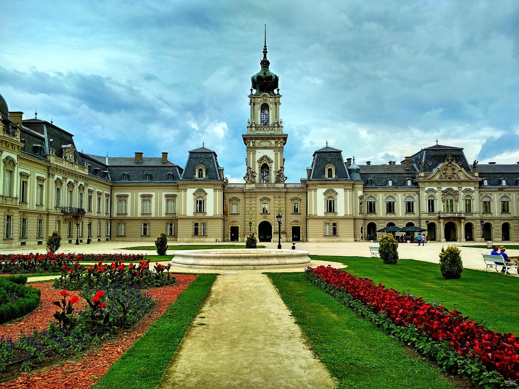 Festetics Palace, Keszthely, Hungary by Sevoir