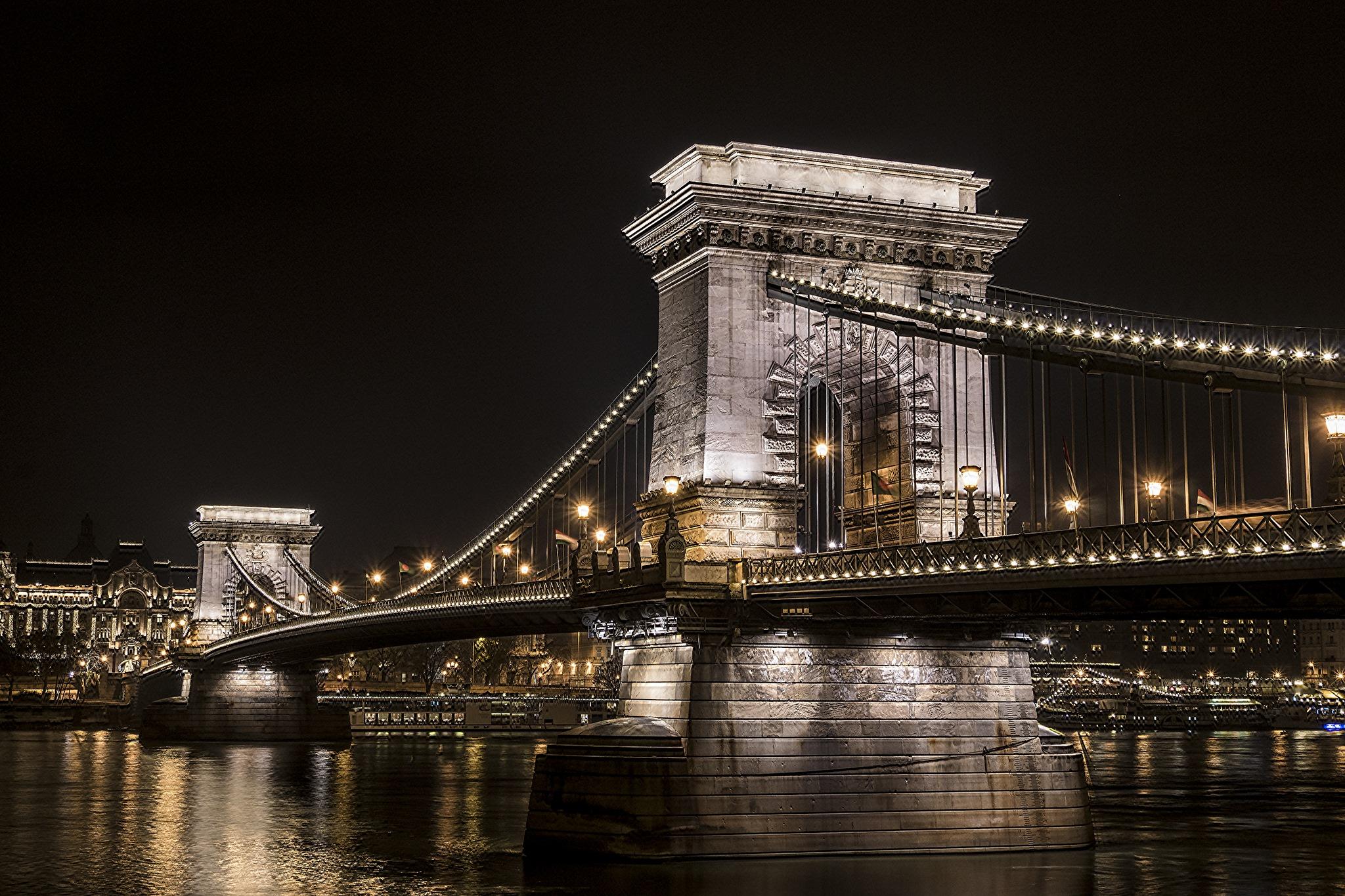 Chain Bridge II, Budapest by Sevoir