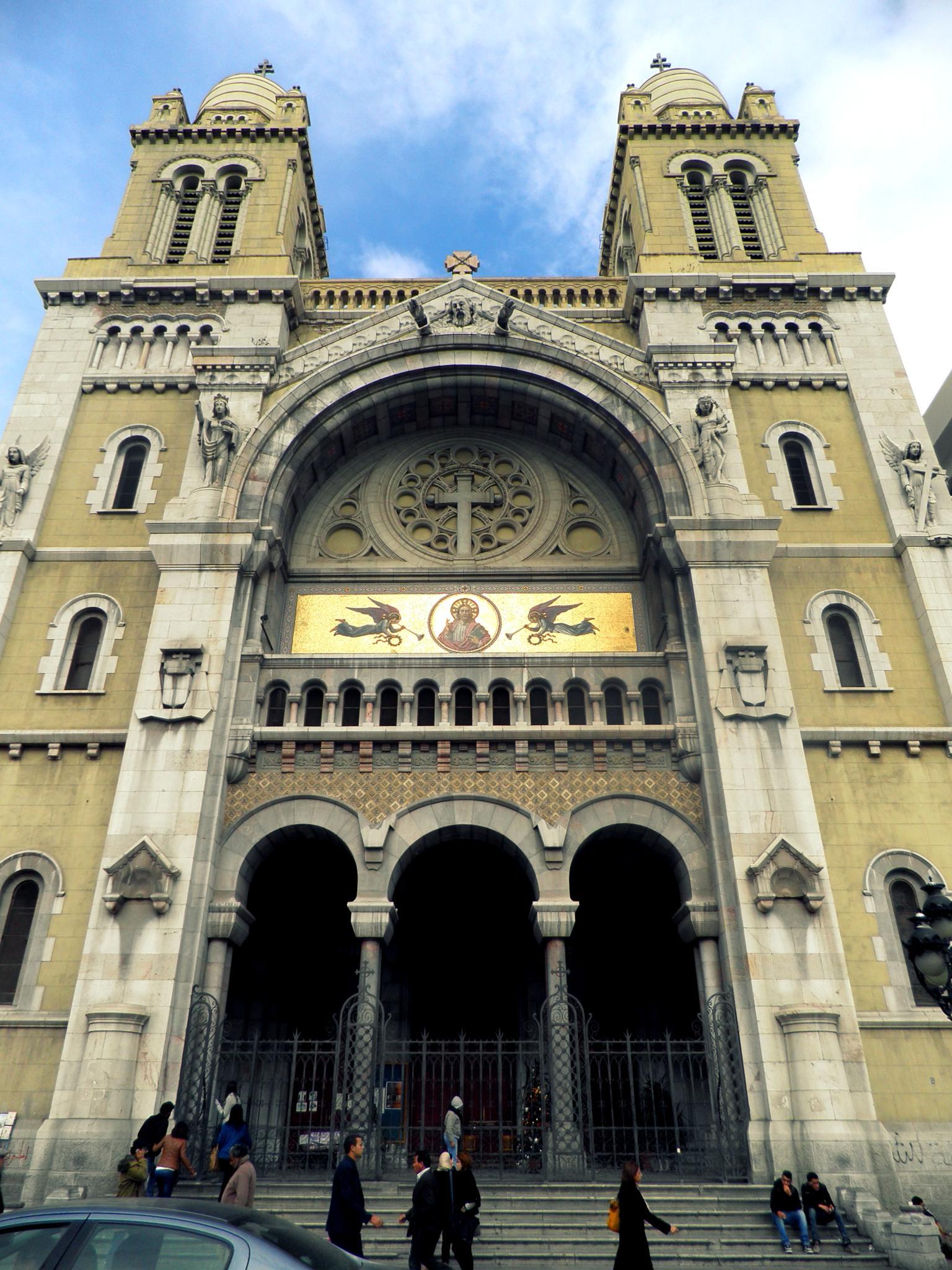 Cathédrale Saint-Vincent-de-Paul de Tunis by Hiba Sghaier