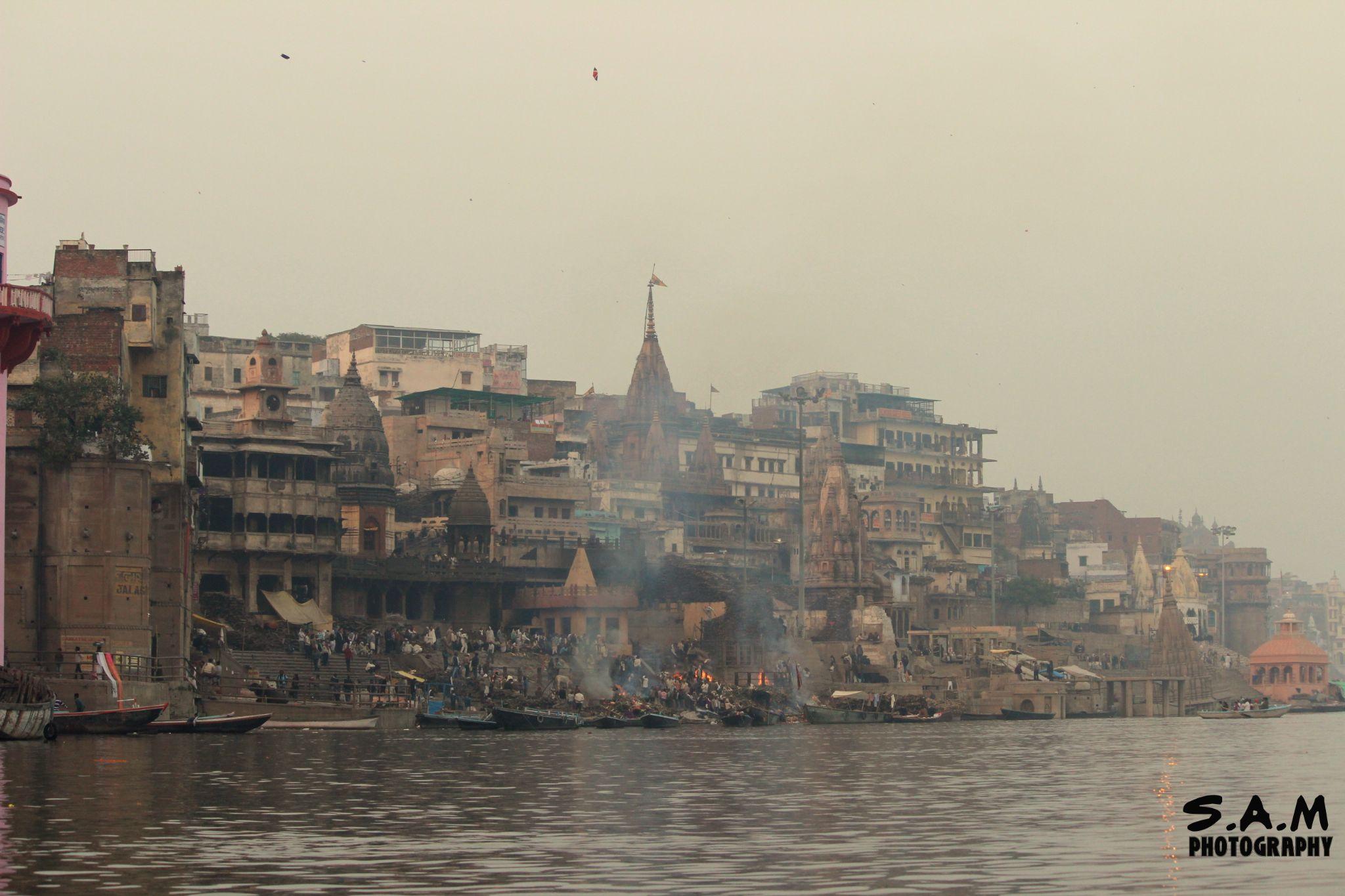 The Burning Ghats by Some Aditya Mandal
