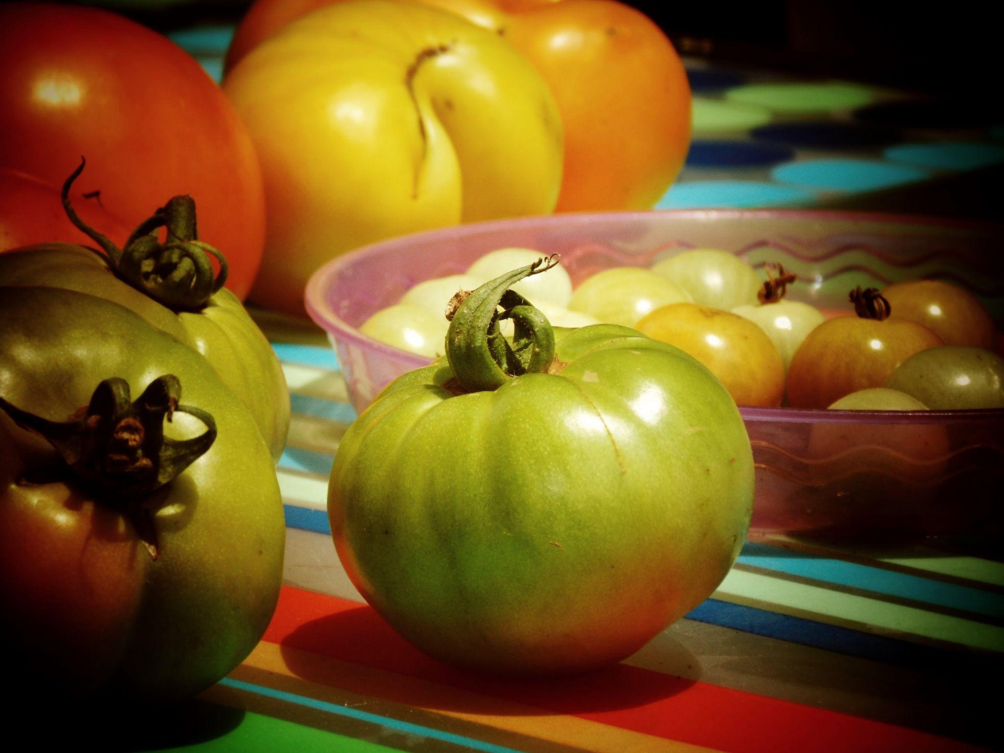 Tomatoes, YUM! by SuuZPhotography