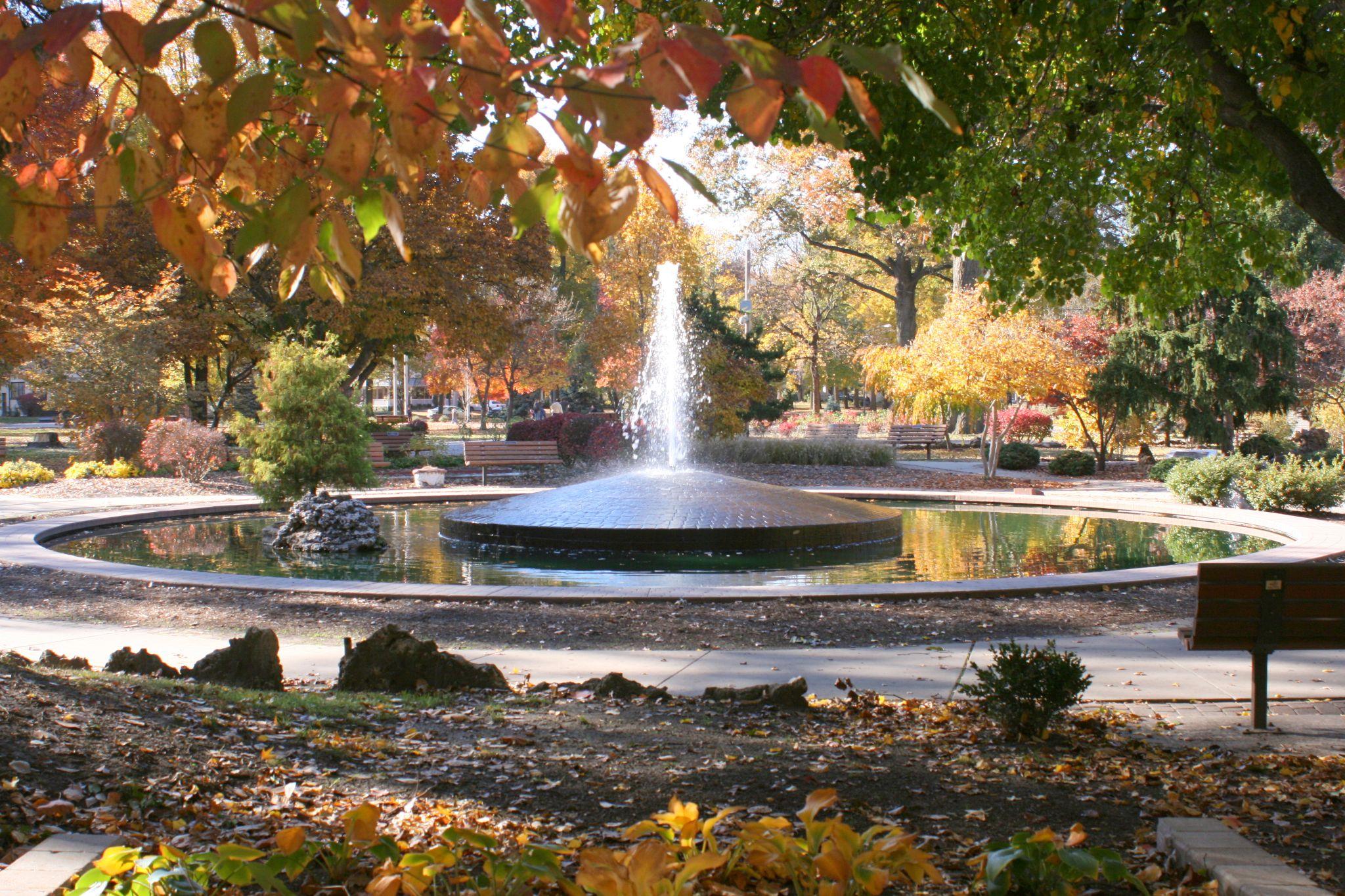 Wilson Park in the Fall by gcgeneva