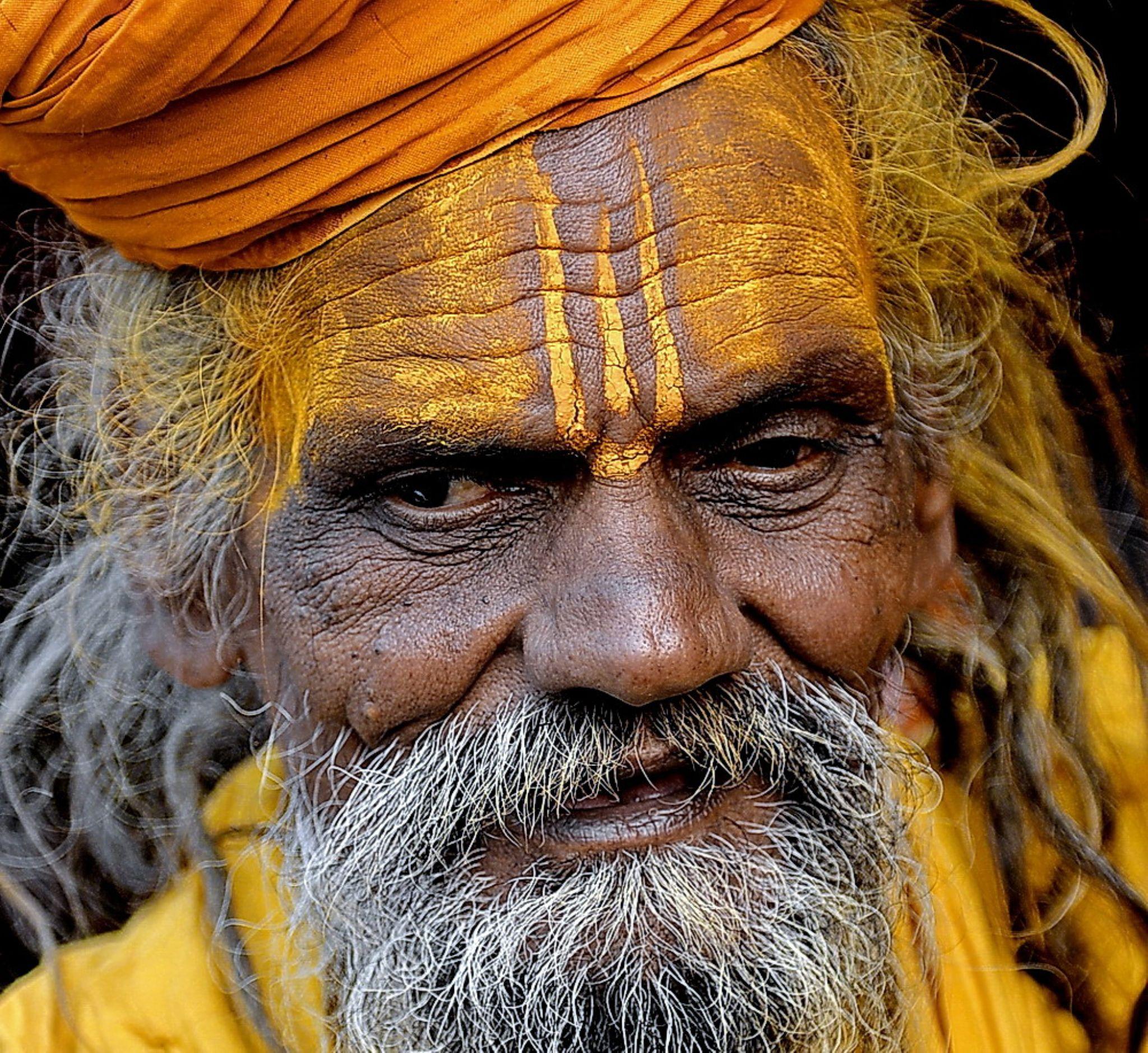 Man in Yellow by Sudipta Dutta Chowdhury