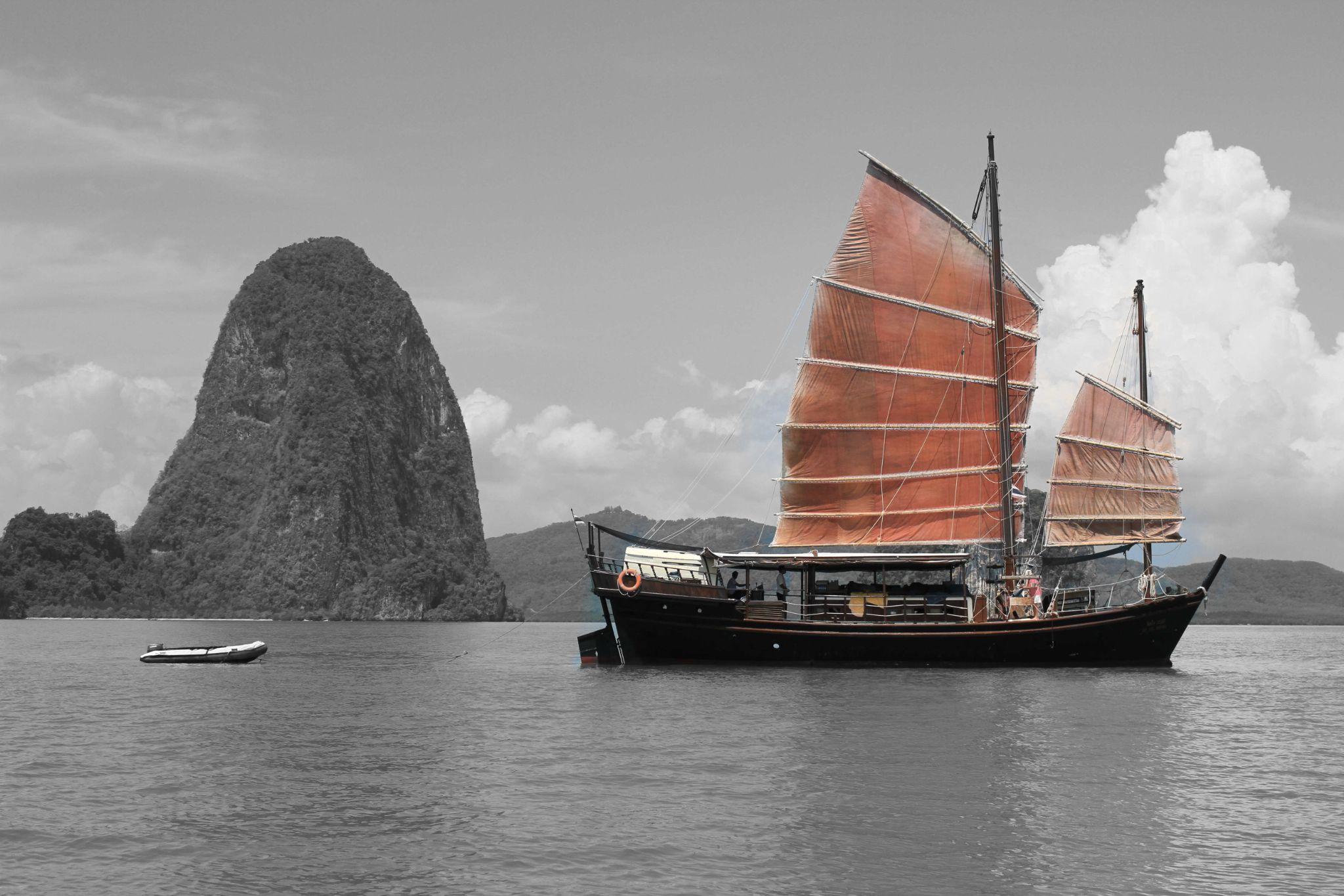 Golden Sail by my world photos