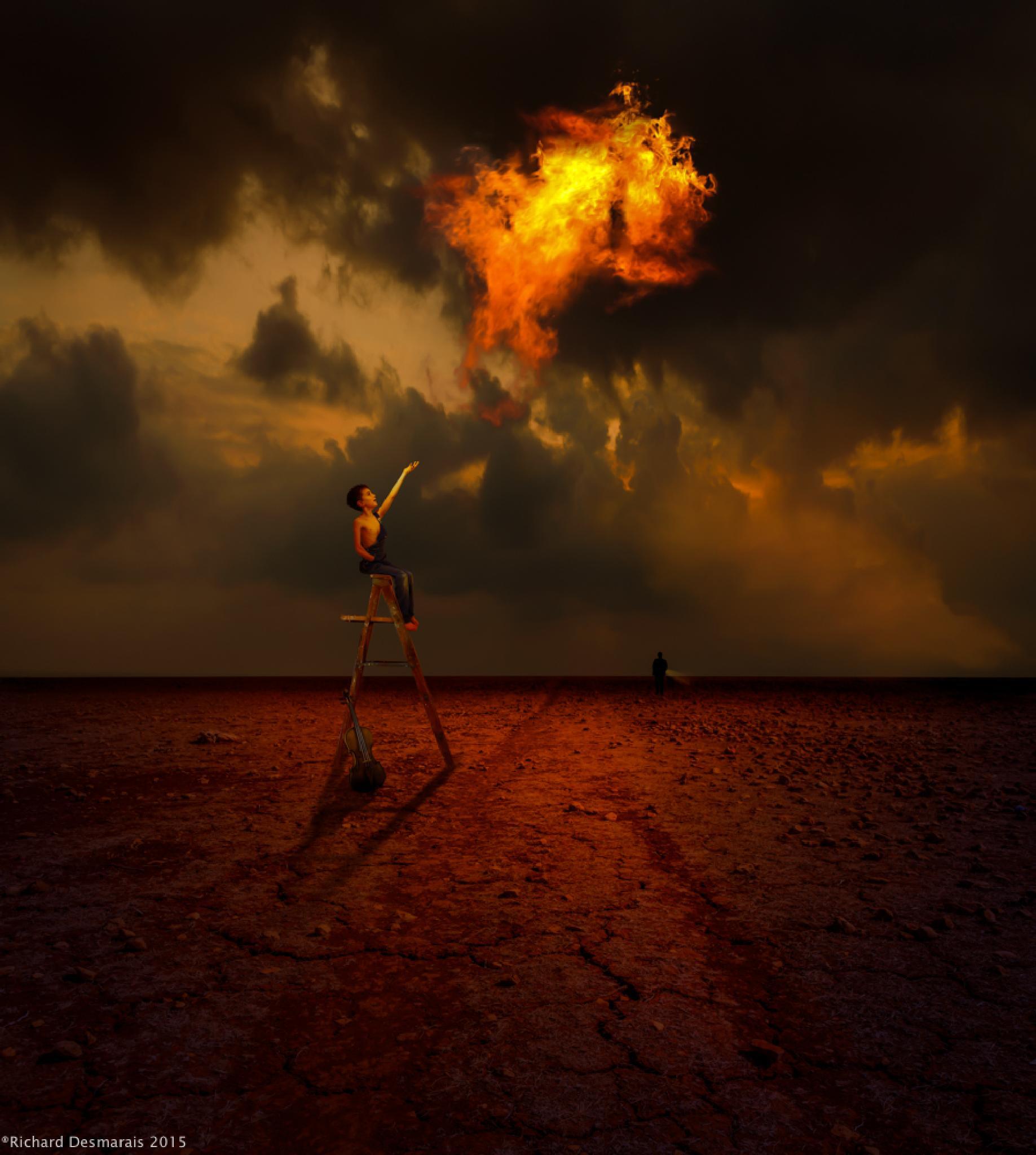 Fire Boy by Richard Desmarais