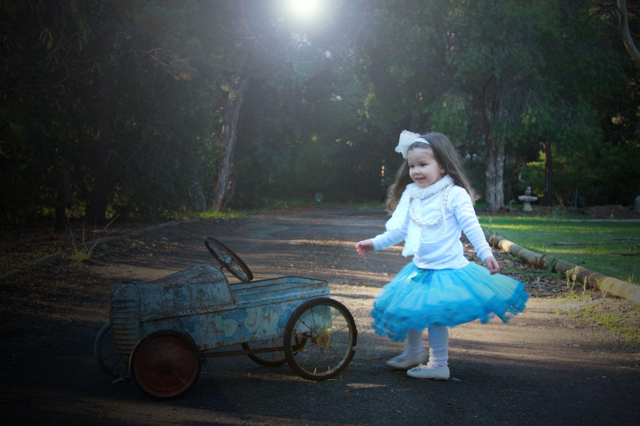 Princess blue by Franv76
