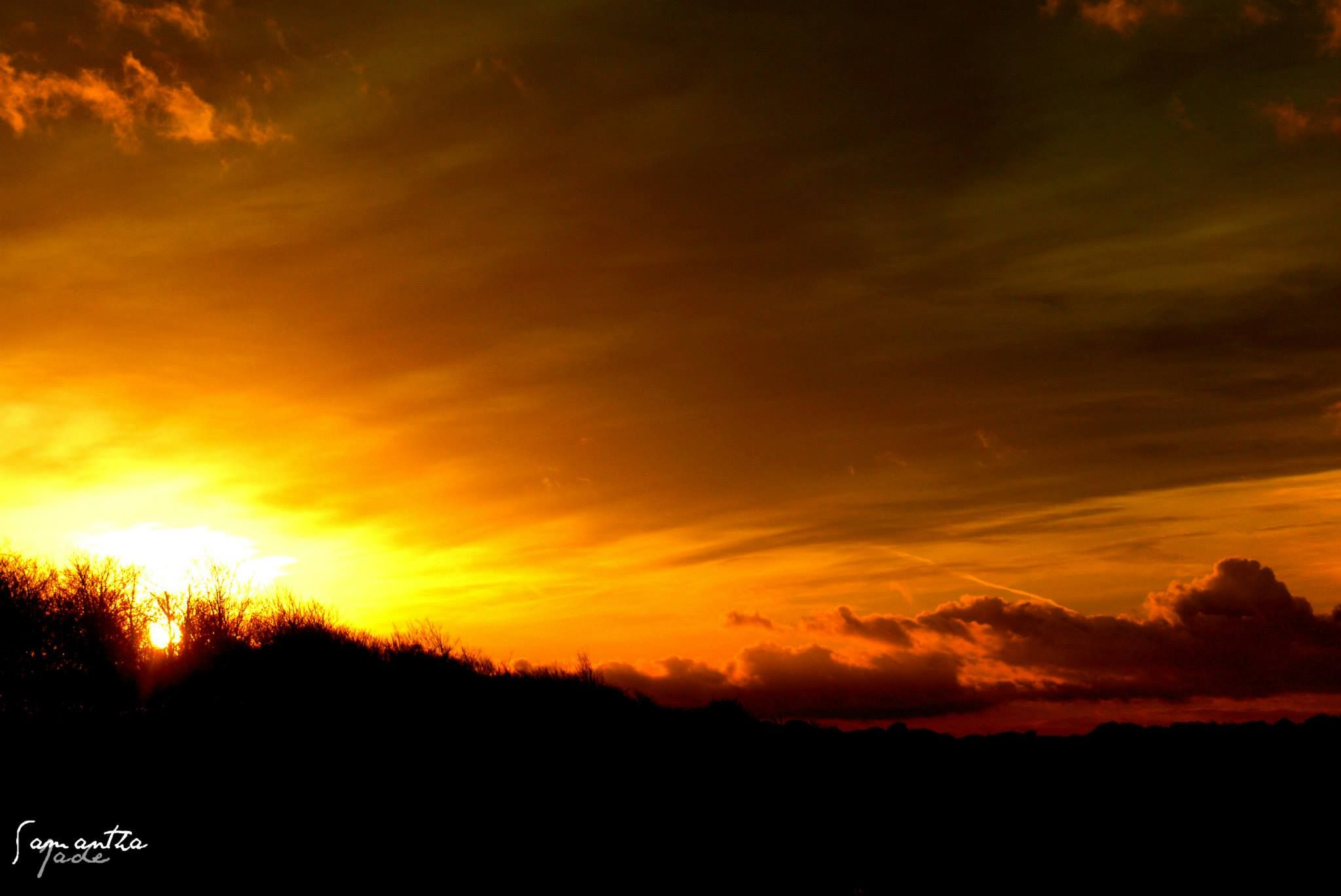 ** High Contrast Sunset ** by samanthajade.smith.1