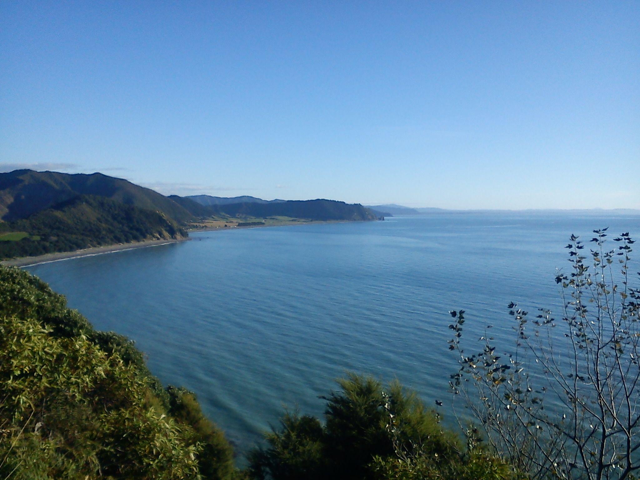 East Coast, between Opotiki and Maraenui, North Island, NZ by sanz r